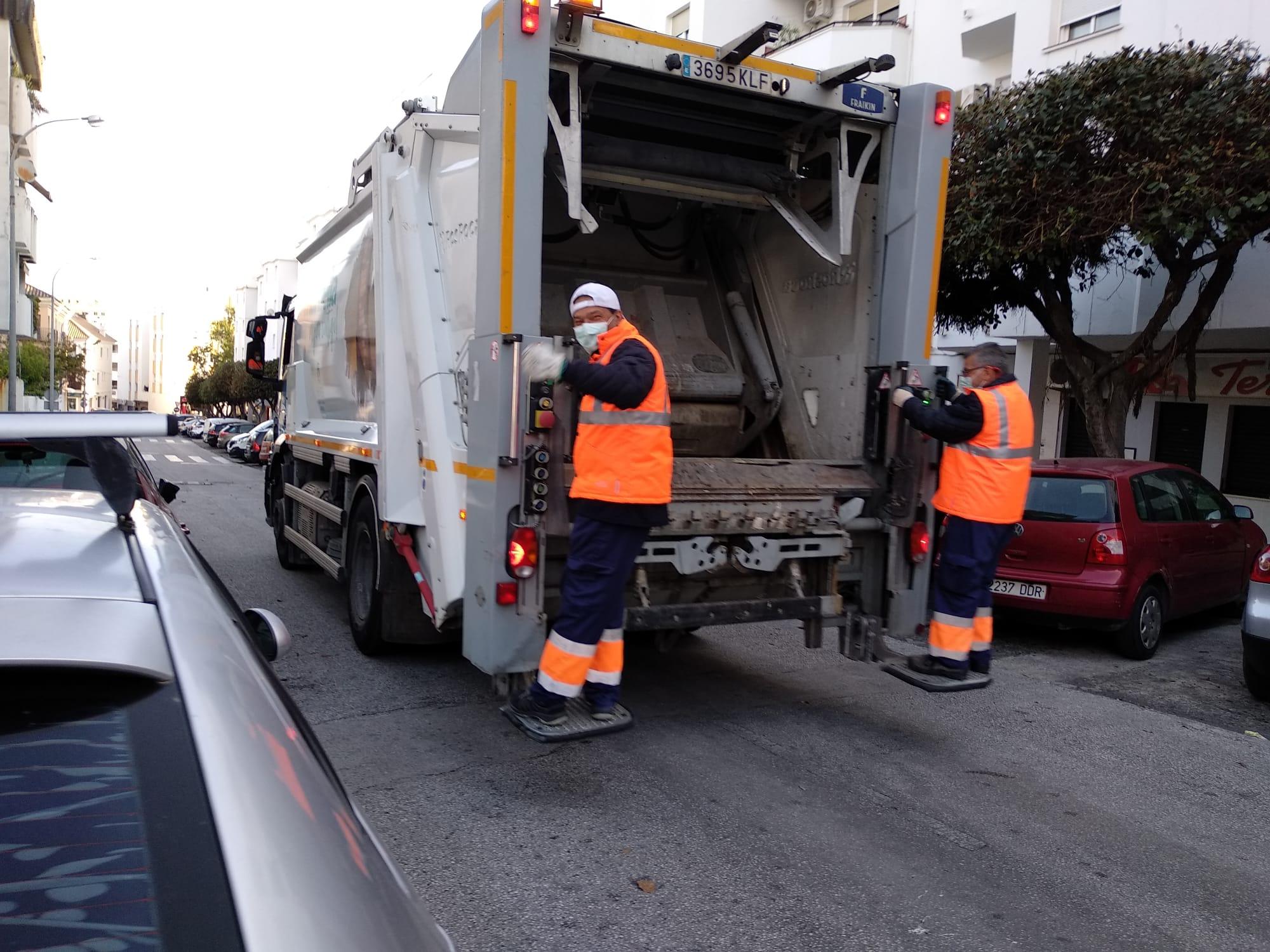 La recogida de residuos desciende un 10% en marzo por el estado de alarma del Covid-19
