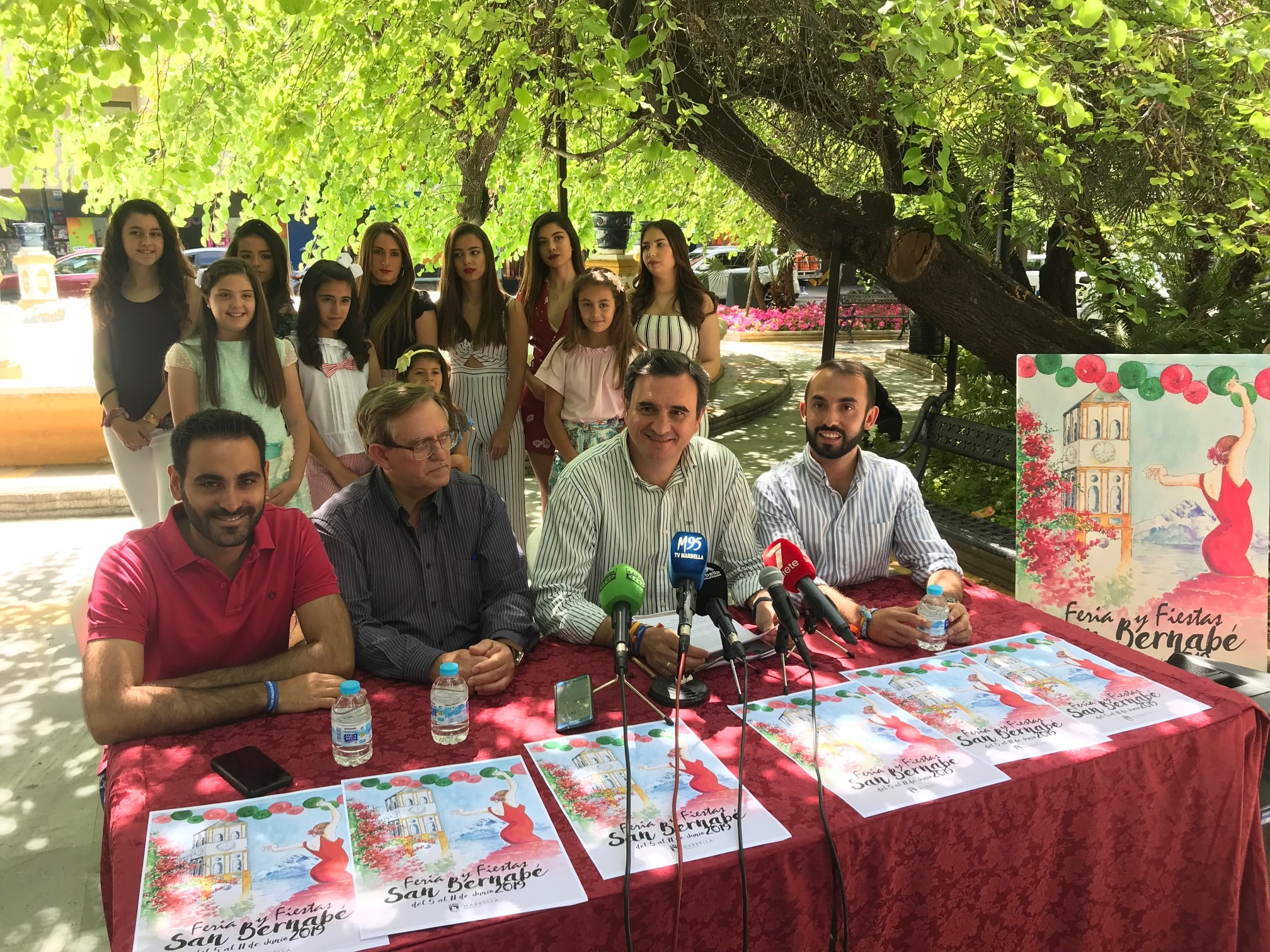 La Romería de San Bernabé abrirá el 2 de junio el programa de la Feria de Marbella 2019