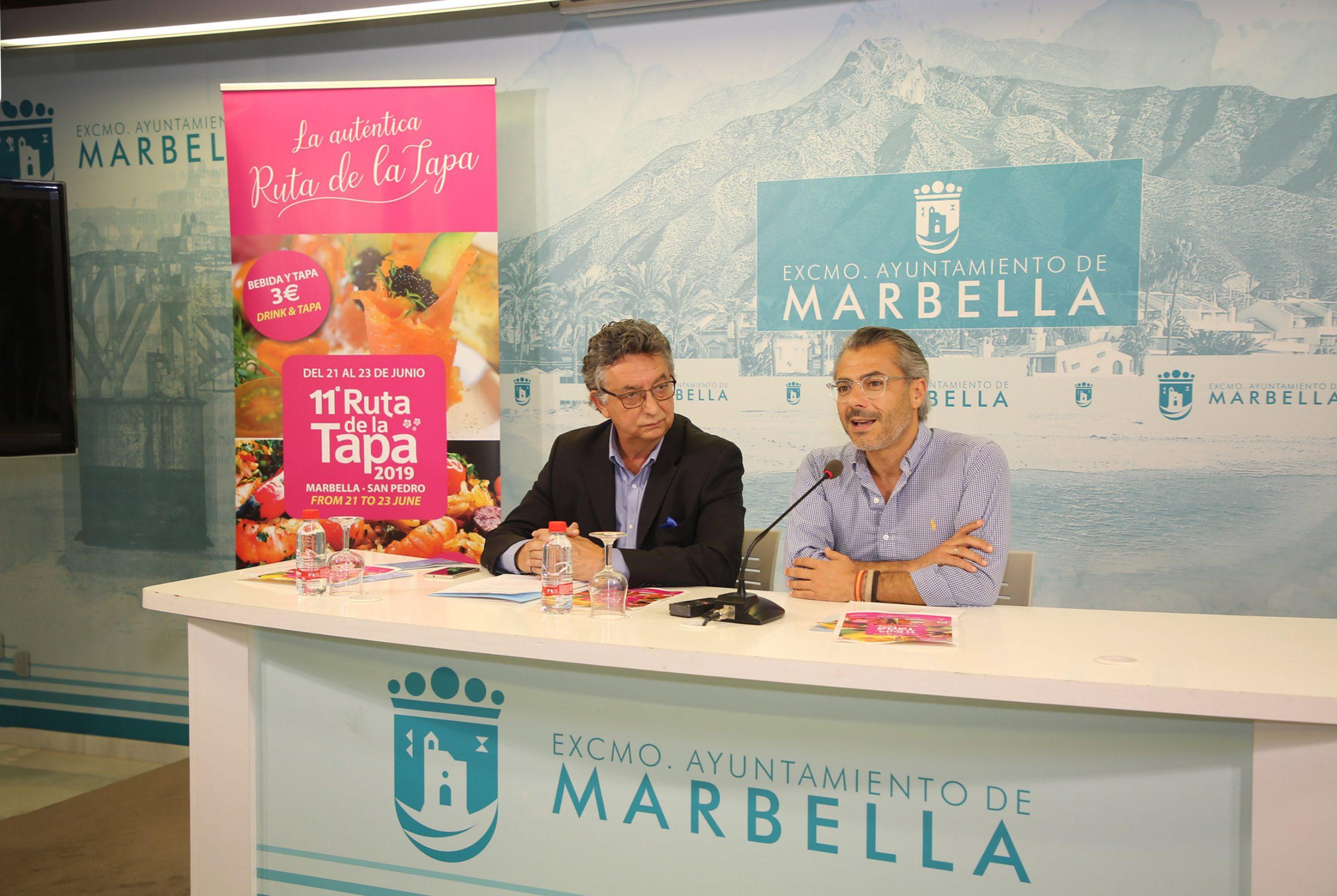 La XI edición de la Ruta de la Tapa Marbella-San Pedro 2019 reunirá a más de 50 establecimientos