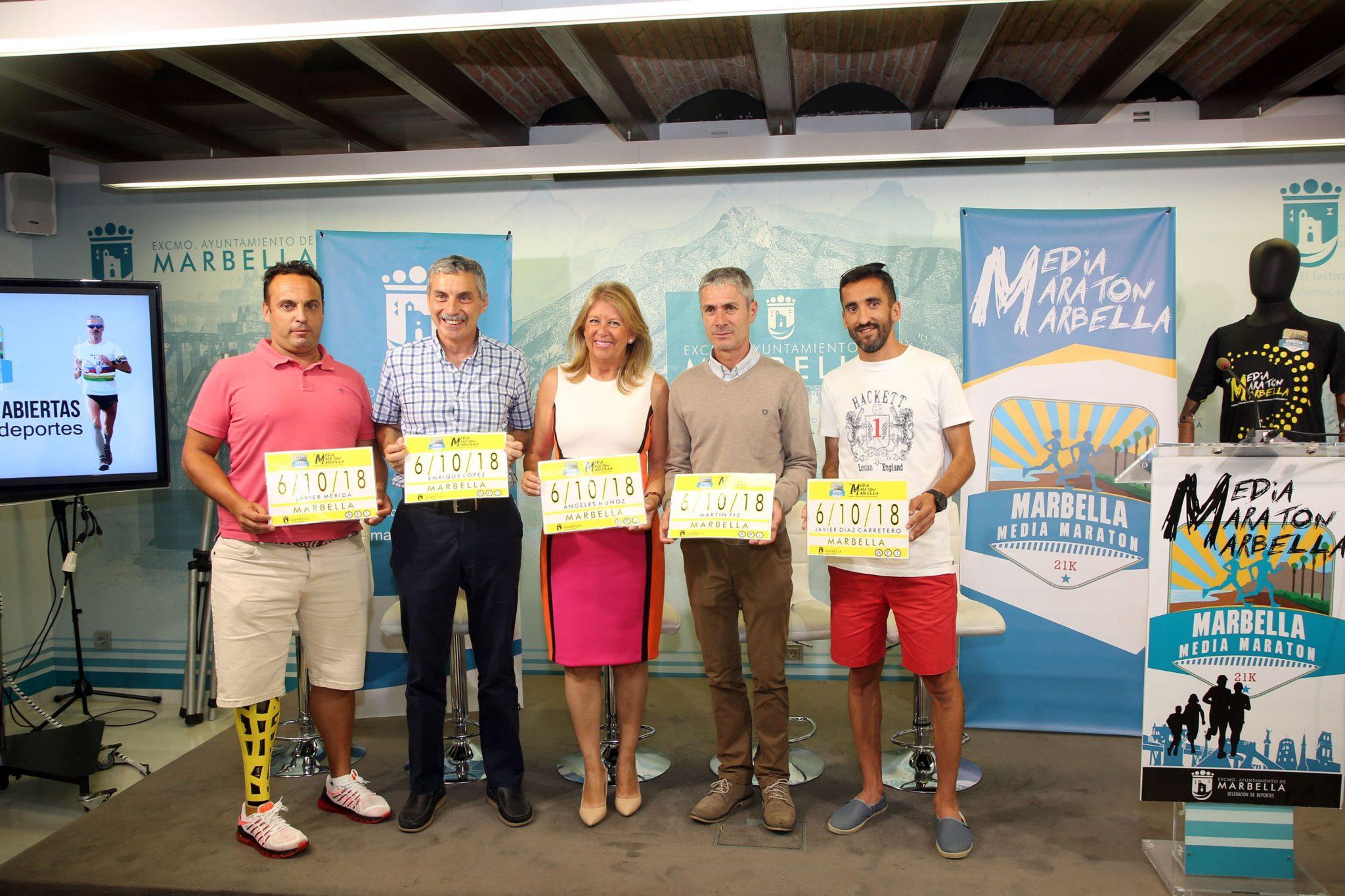La XXXIII Media Maratón de Marbella tendrá lugar el 6 de octubre