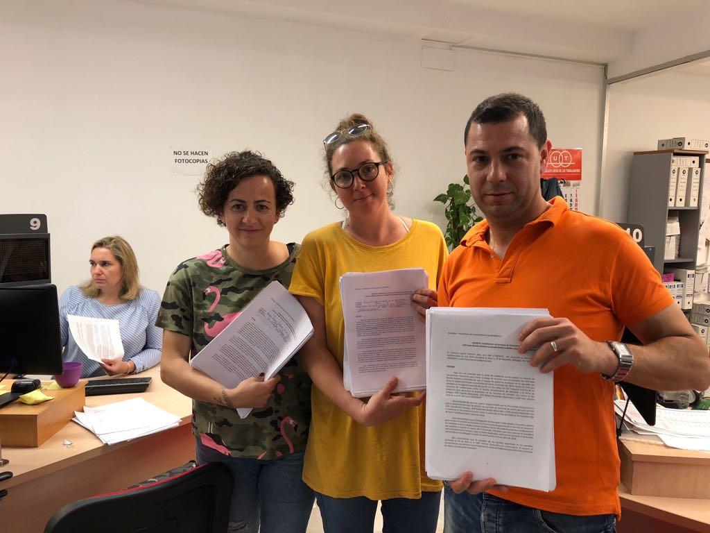 Las AMPAS de los CEIP Juan Ramón Jiménez, Rafael Fernández Mayoralas y Vicente Aleixandre han registrado hoy en el ayuntamiento más de 800 notificaciones