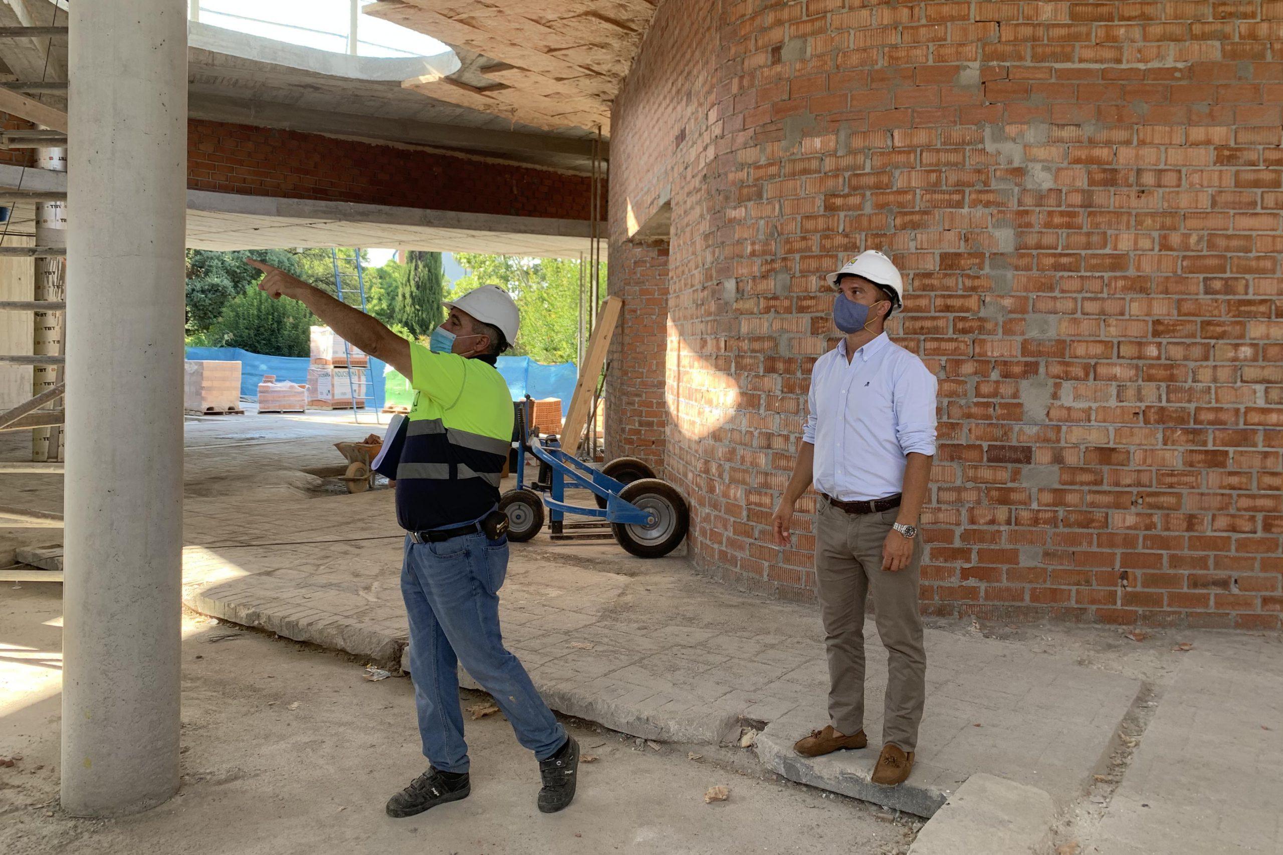 Las obras de la nueva biblioteca central en el parque de La Represa van a buen ritmo