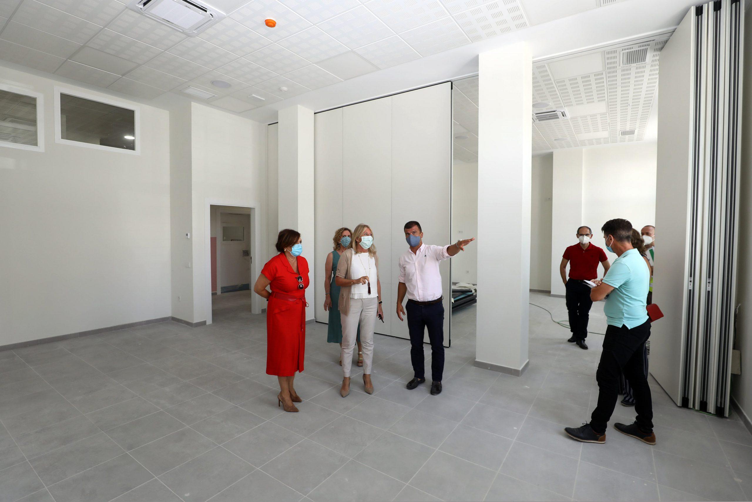 Las obras de la nueva sede de la Escuela Oficial de Idiomas, a punto de concluir