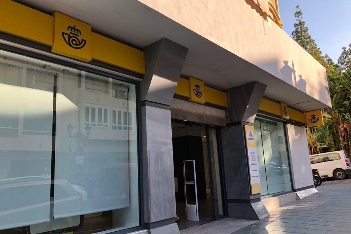 Las oficinas de correo de Marbella y San Pedro ofrecen cita previa