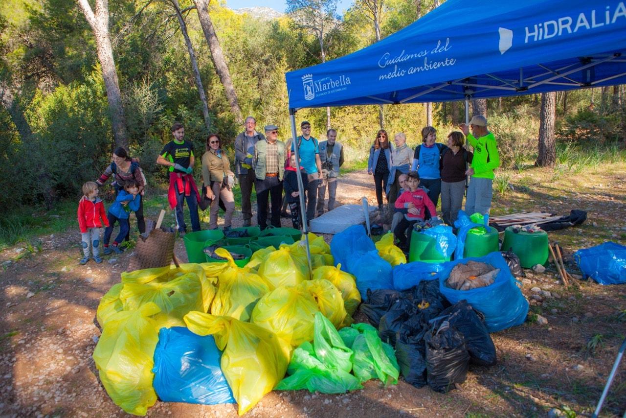 iniciativa para mantener nuestros espacios verdes libres de basura