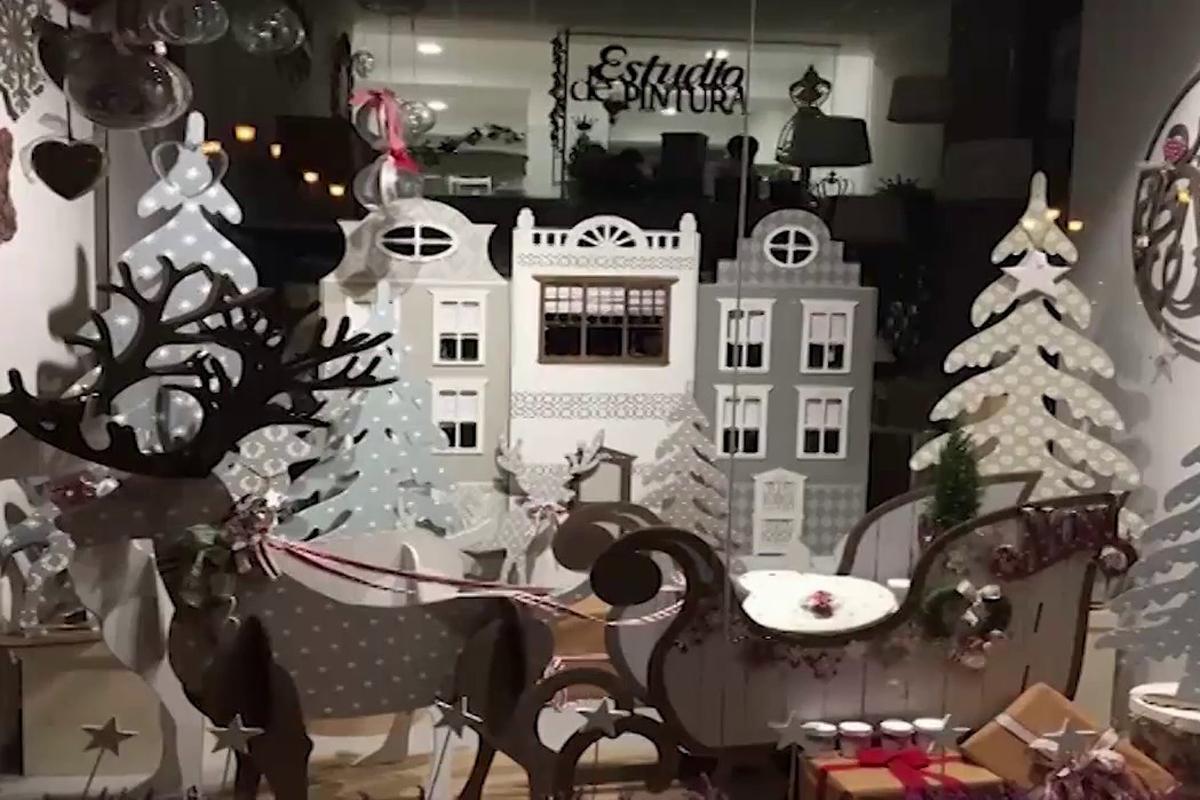 Llega el concurso de escaparates navideños de Marbella