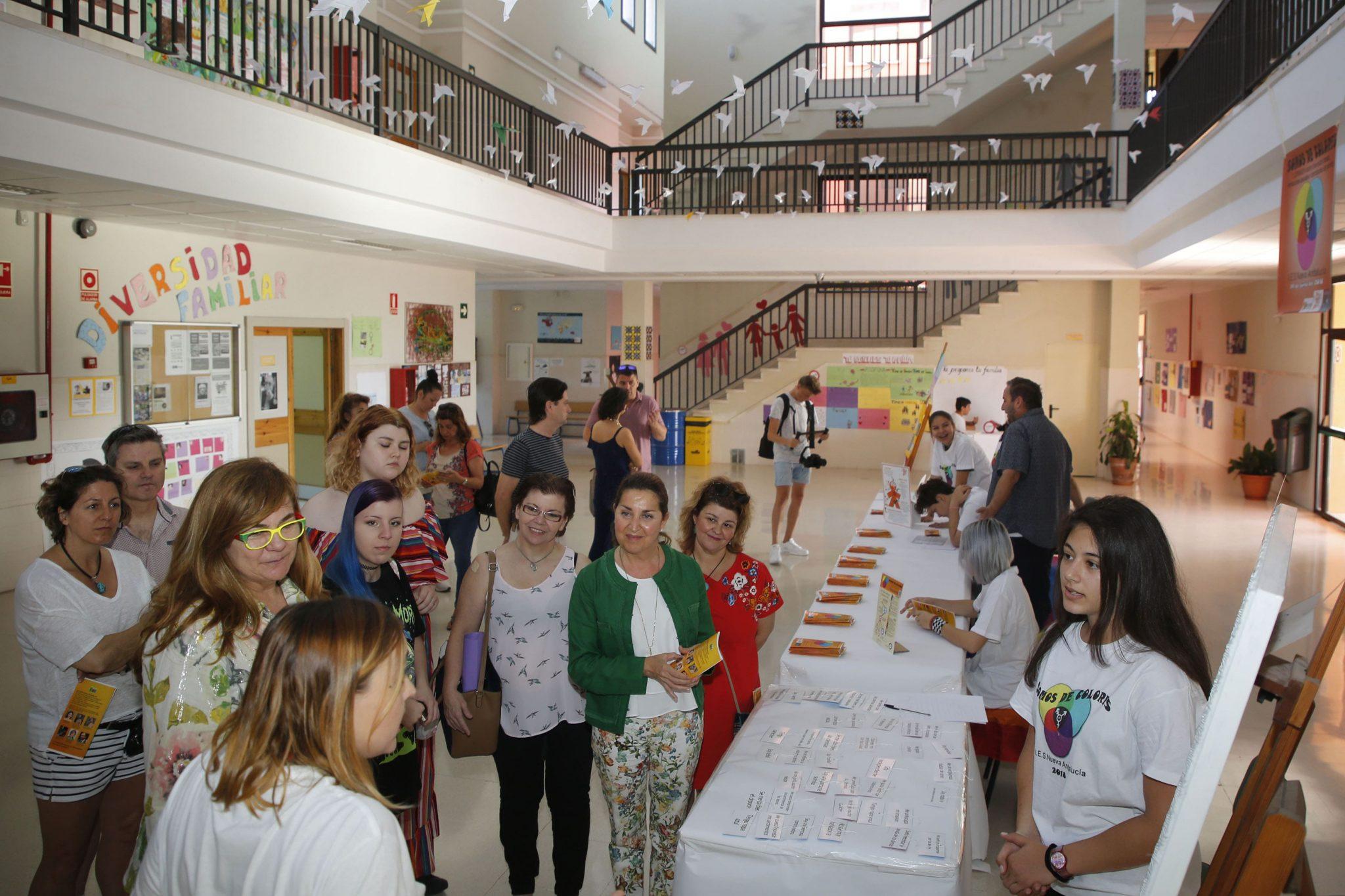 Los centros educativos conciencian sobre diversidad familiar, de género y orientación sexual
