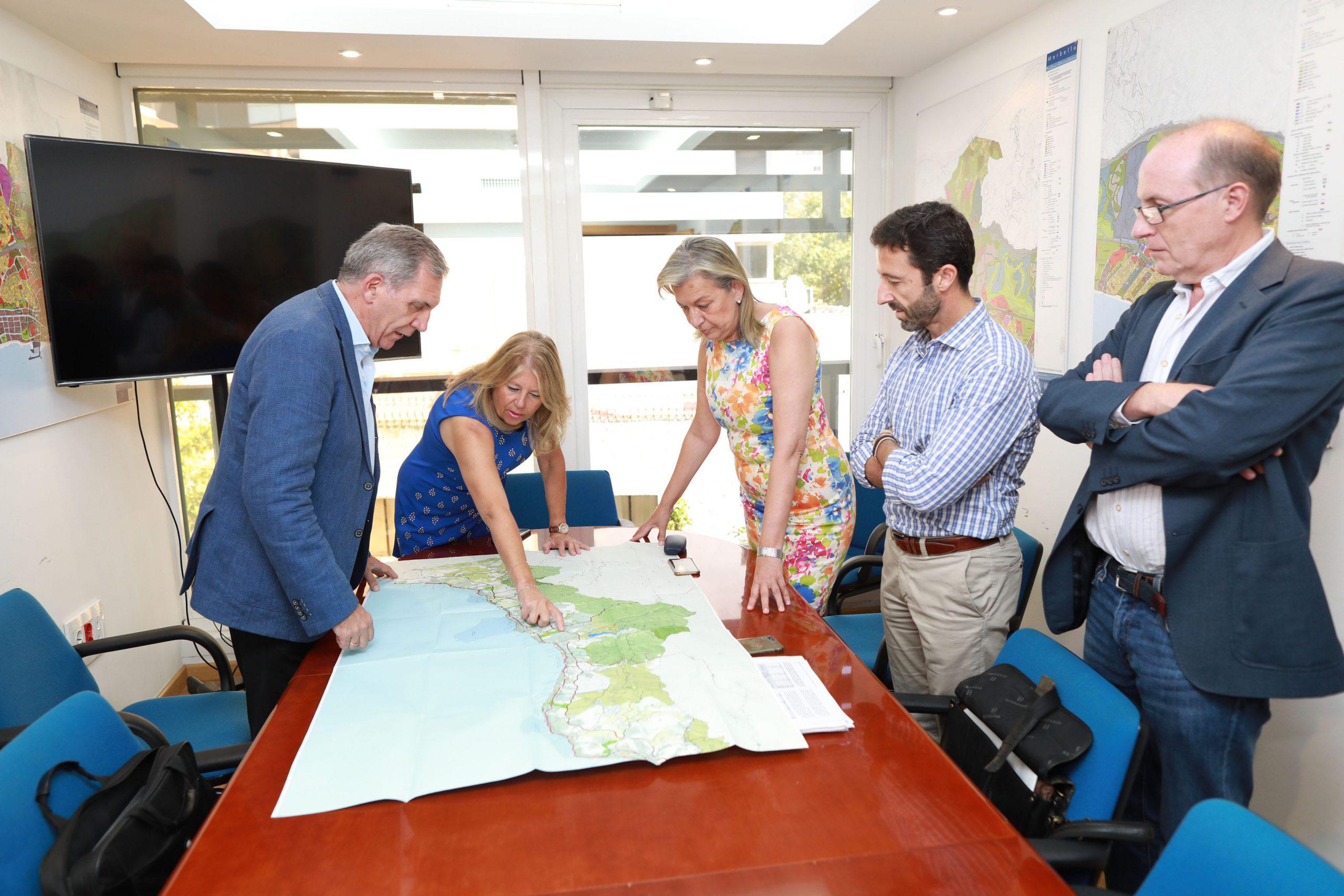Los criterios del Ayuntamiento se tendrán en cuenta al elaborar el nuevo Plan de Ordenación del Territorio de la Costa del Sol