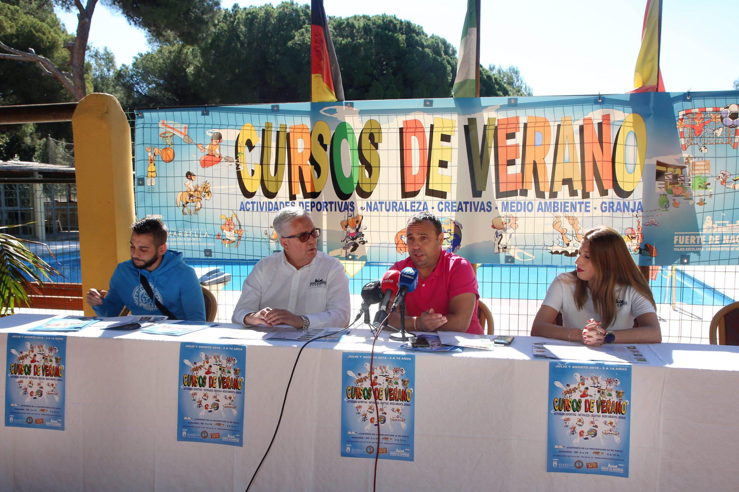 Los cursos de verano del Fuerte Nagüeles ofrecerán más de 30 actividades