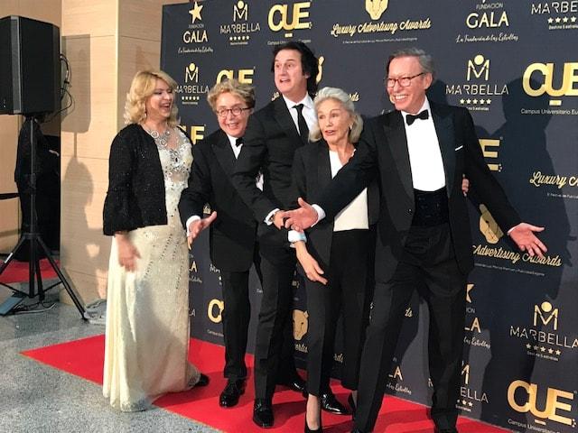 Los Luxury Awards Marbella 2018 premiaron las mejores campañas publicitarias de lujo de España