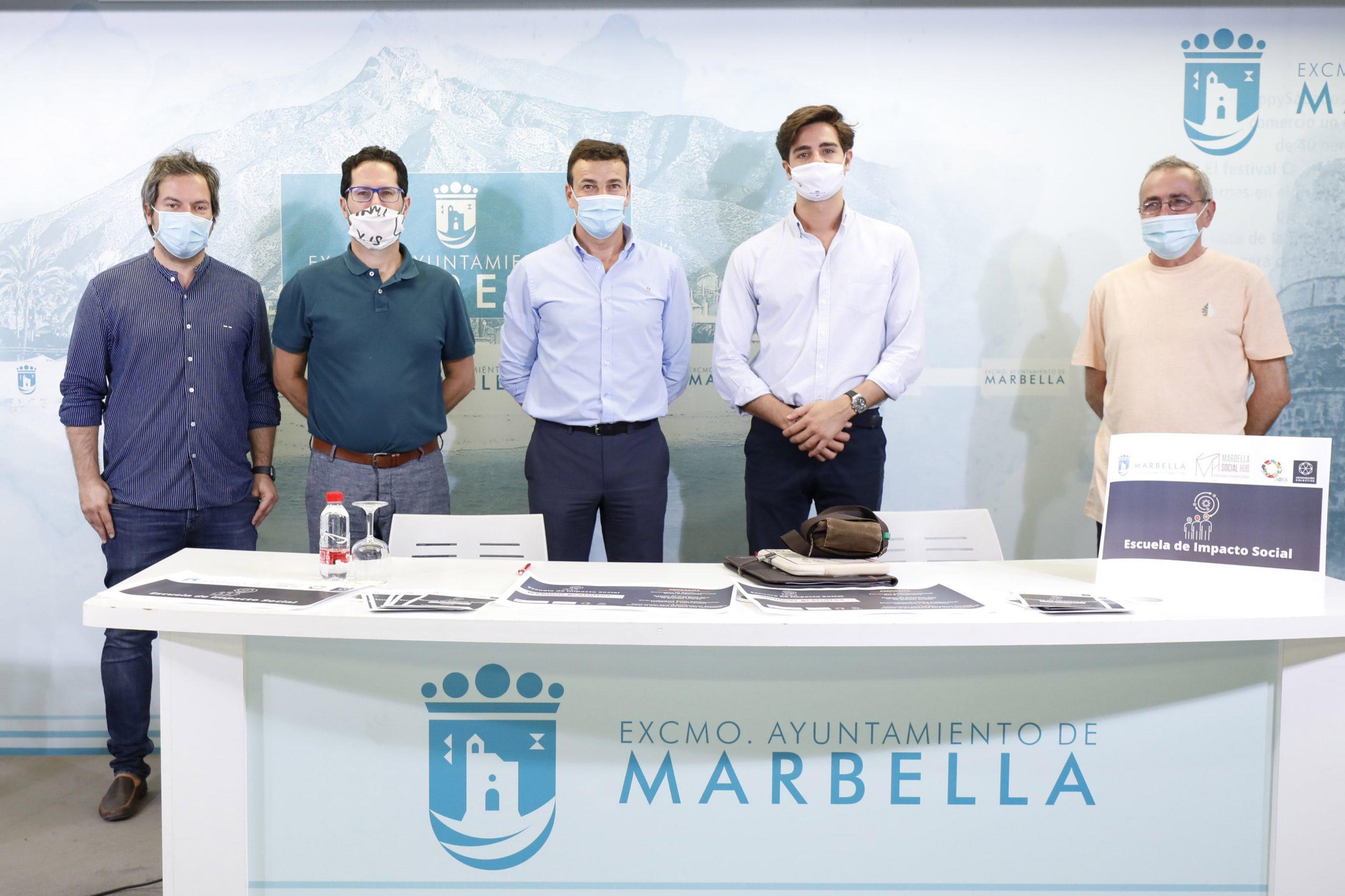 Mañana comienza una nueva edición del programa 'Marbella Social Hub'