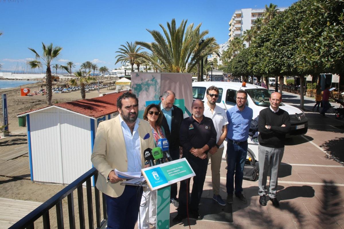 El Ayuntamiento ha acometido alrededor de 400 actuaciones de mantenimiento de playas desde el mes de enero de cara al inicio de la temporada estival