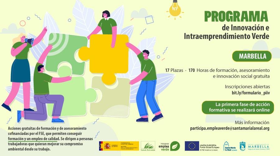 Marbella albergará el 'Programa de Innovación e Intraemprendimiento Verde'
