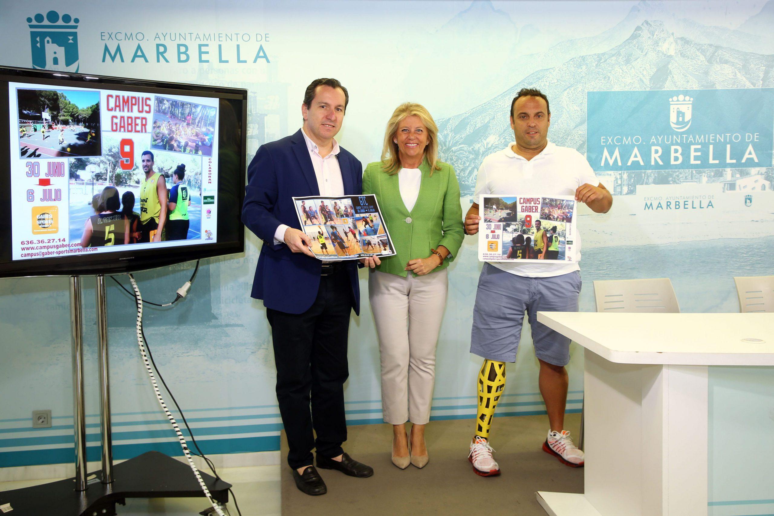 Marbella albergará la novena edición del Campus Gaber de baloncesto del 30 de junio al 6 de julio