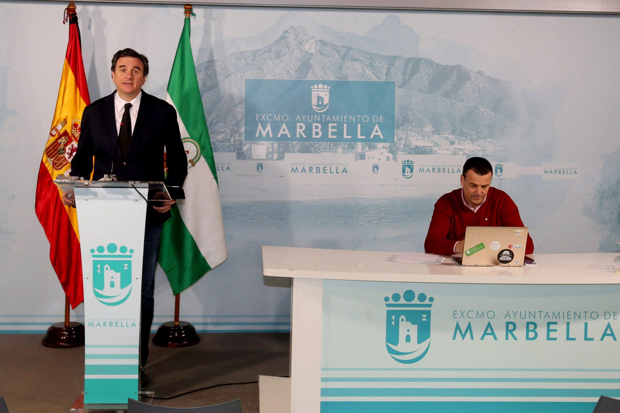 Marbella anuncia un Plan de Apoyo al Comercio Minorista para relanzar el sector frente al Covid-19