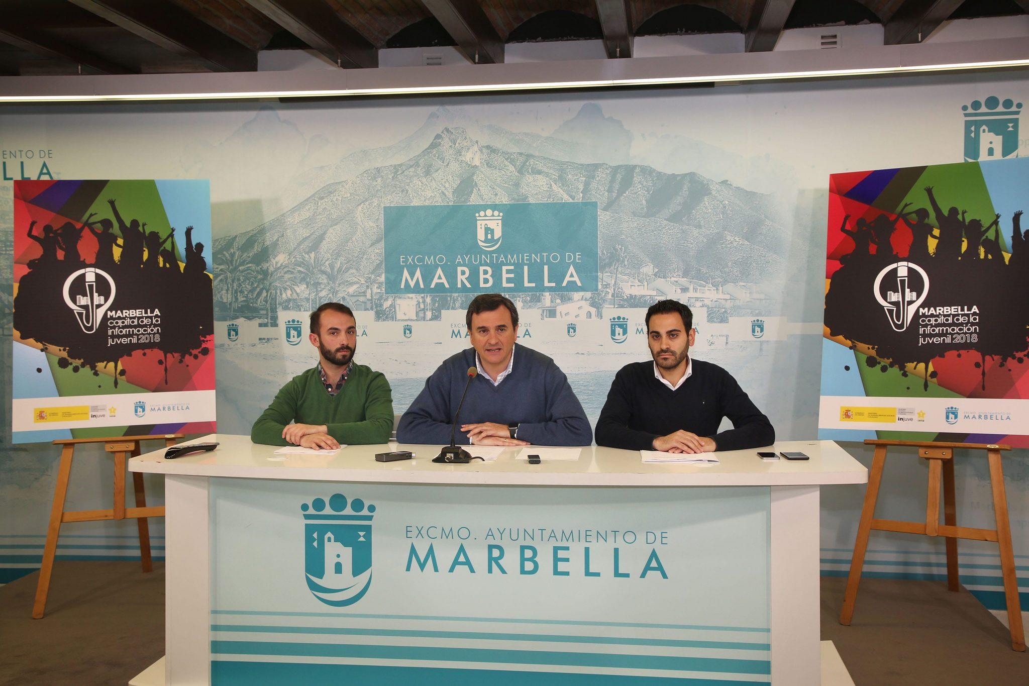 Marbella, Capital Nacional de la Información Juvenil 2018