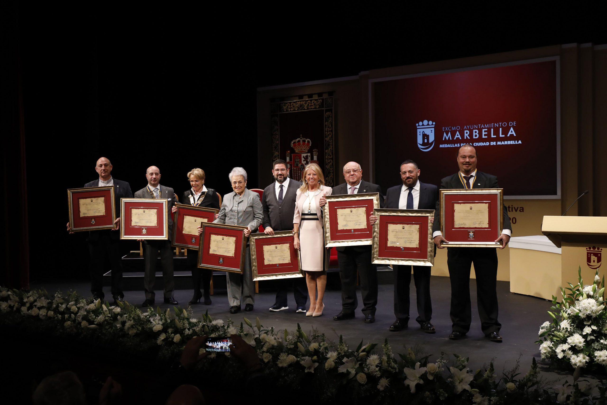 Marbella celebra el Día de Andalucía con los nombramientos de sus Hijos Predilectos e Hija Adoptiva