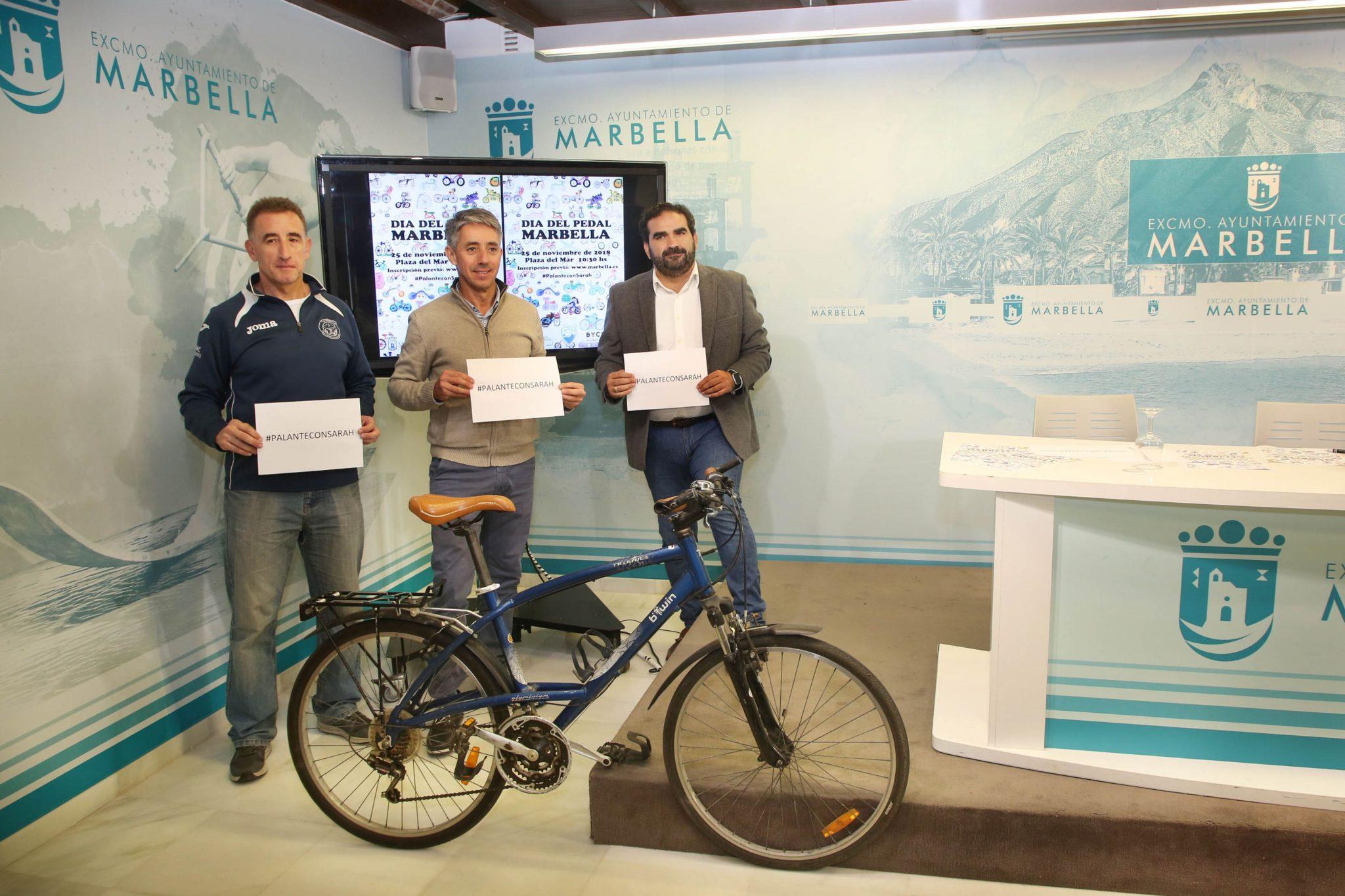Marbella celebrará el Día del Pedal el 25 de noviembre
