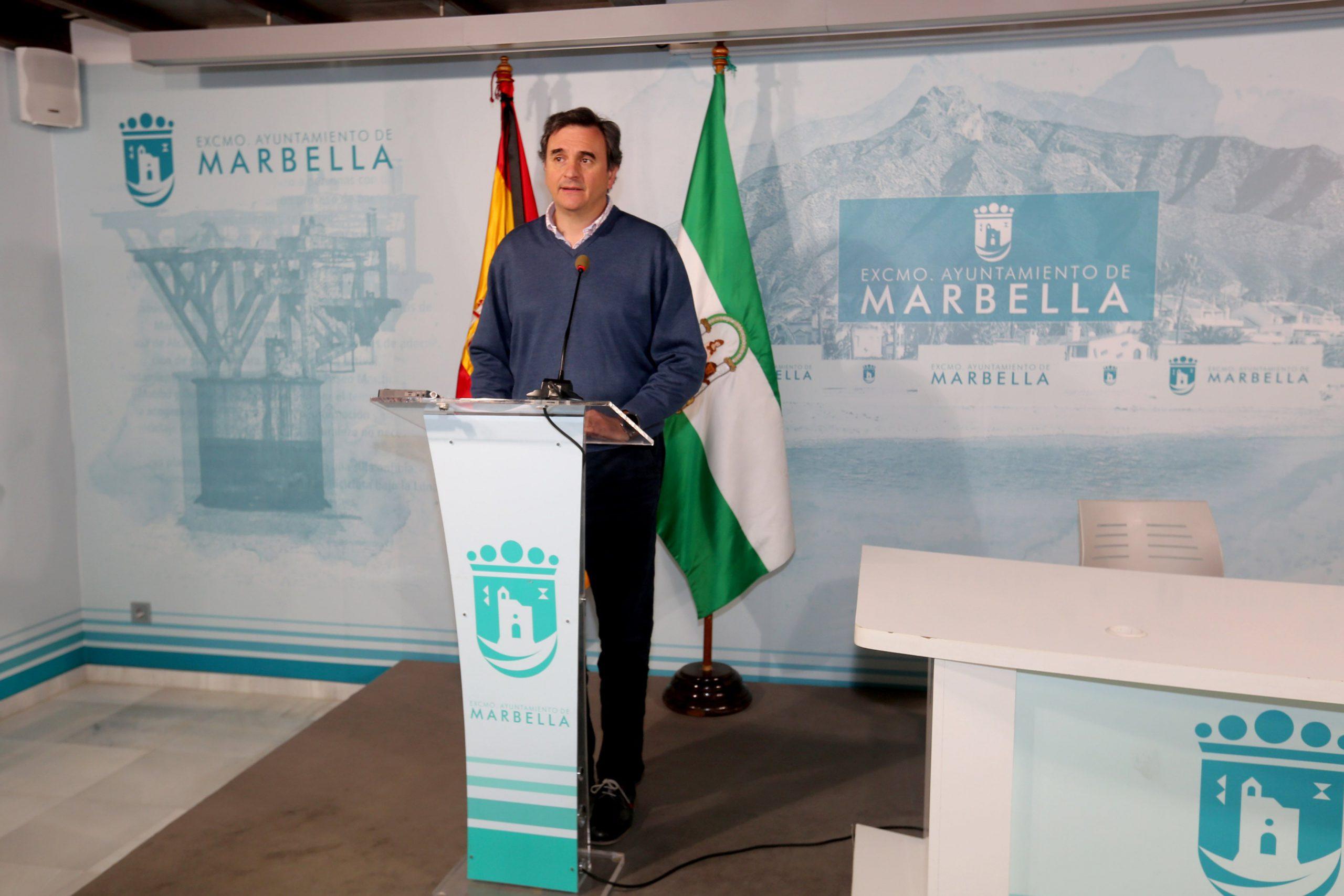 Marbella celebrará mañana el primer Pleno telemático de su historia