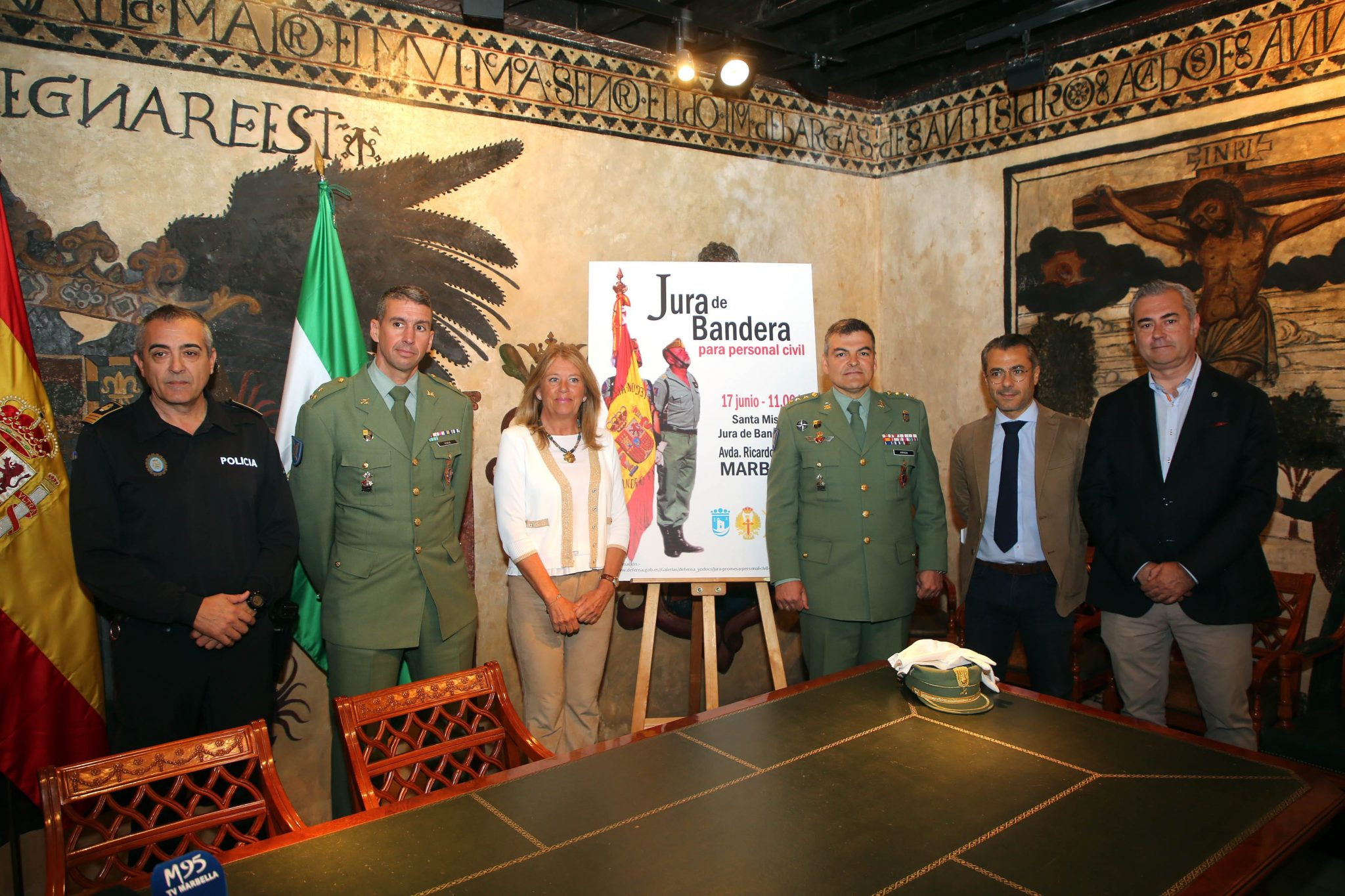 Marbella celebrará por primera vez en su historia una Jura de Bandera Civil