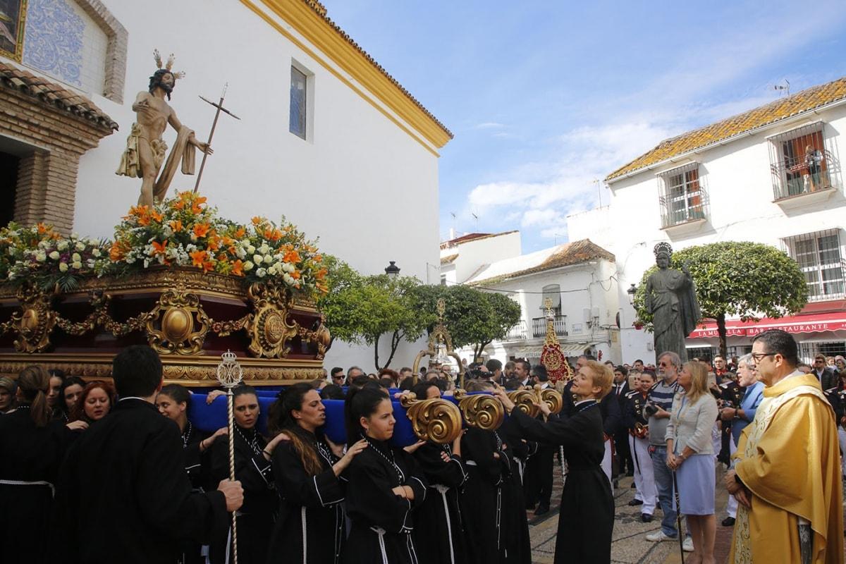 Marbella demuestra su espíritu esta Semana Santa