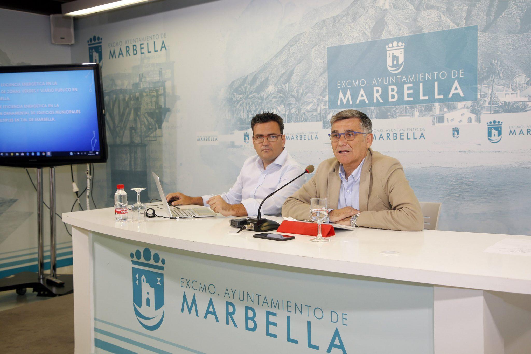 Marbella destacará los edificios y zonas más emblemáticas con dos proyectos de iluminación ornamental