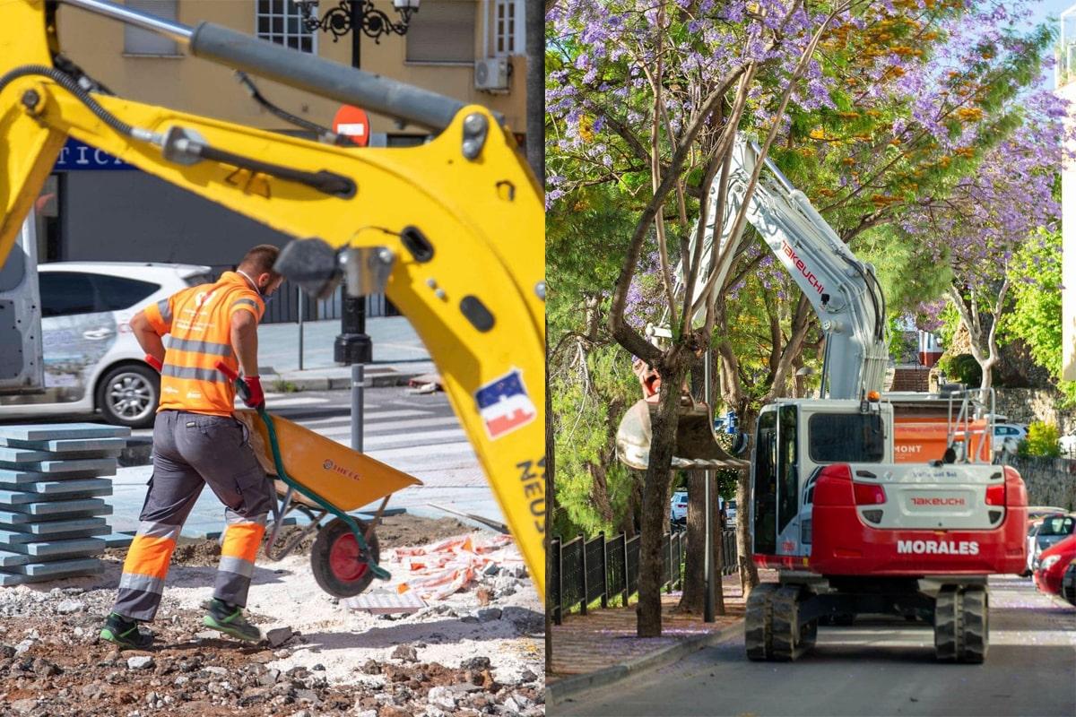 Marbella destinará más de 3,5 millones de euros a 55 obras de regeneración urbana