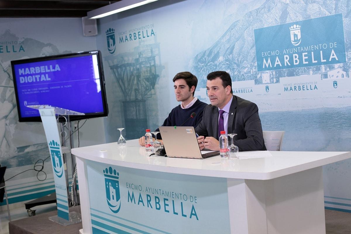 El Ayuntamiento pone en marcha el programa Marbella Digital con más de cuarenta acciones para impulsar la cultura emprendedora y aumentar el número de empresas