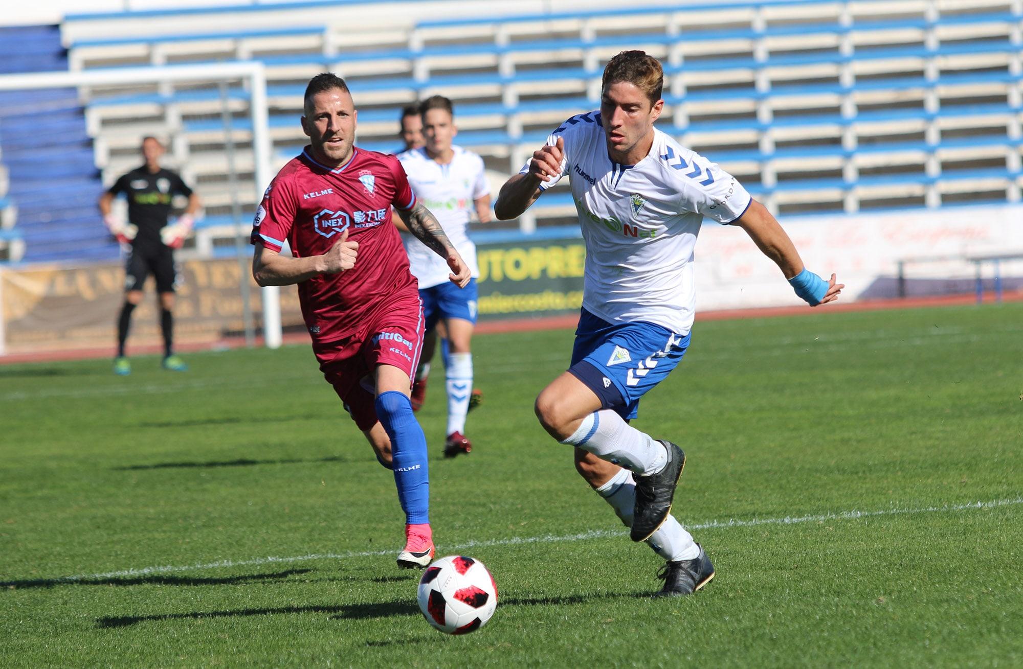El Marbella F.C. cae frente al Jumilla (0-3) en el primer partido del año
