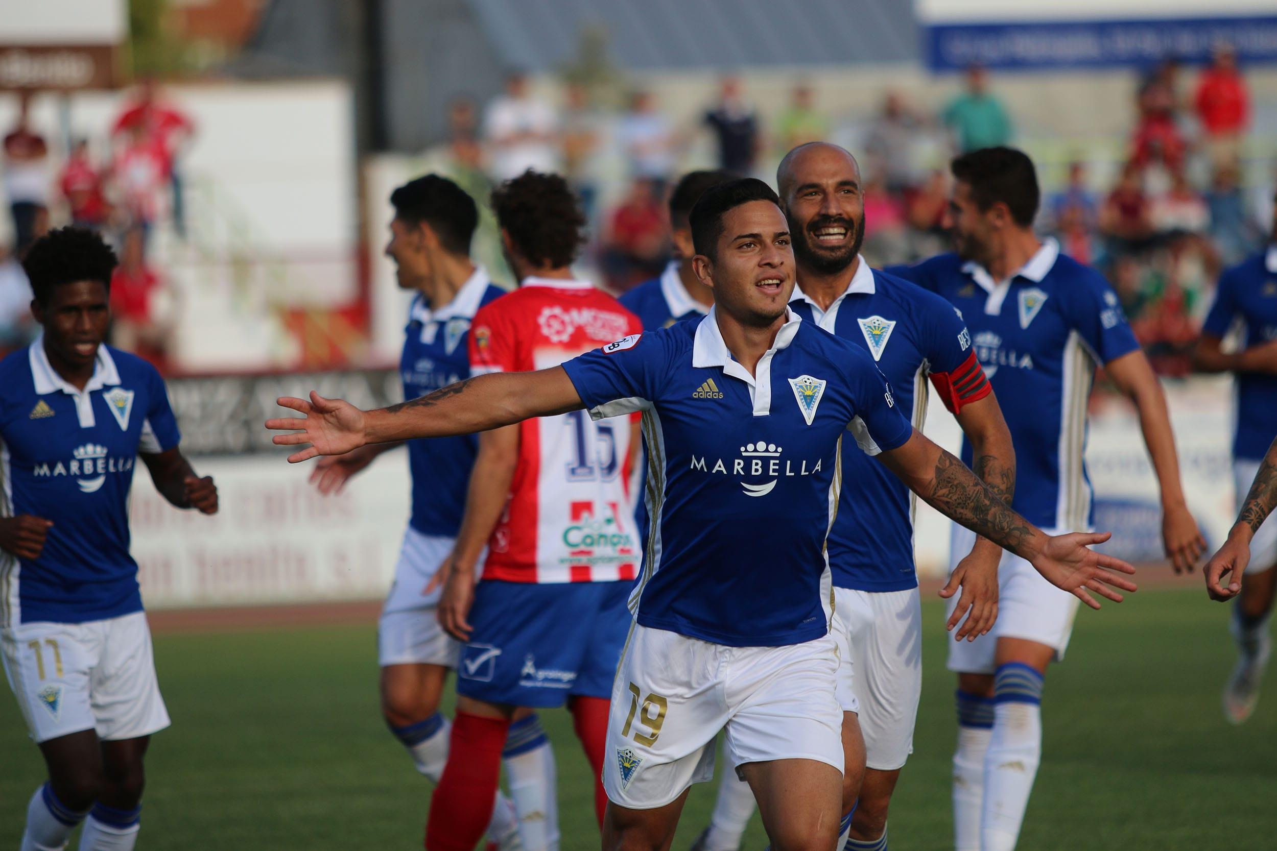 Marbella F.C., único equipo invicto del fútbol profesional español