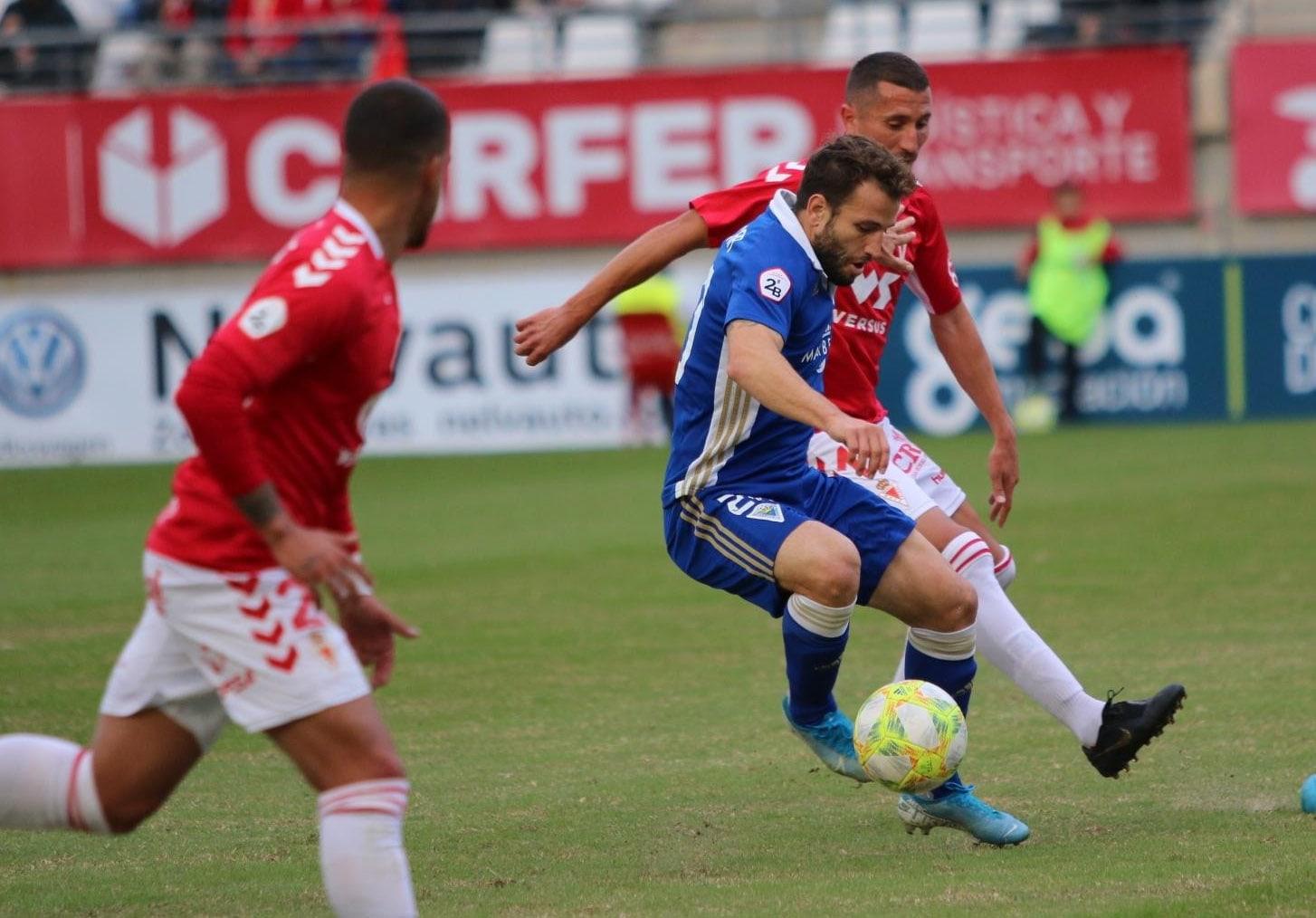 Marbella F.C. vs Murcia, un punto para los blanquillos tras un buen partido