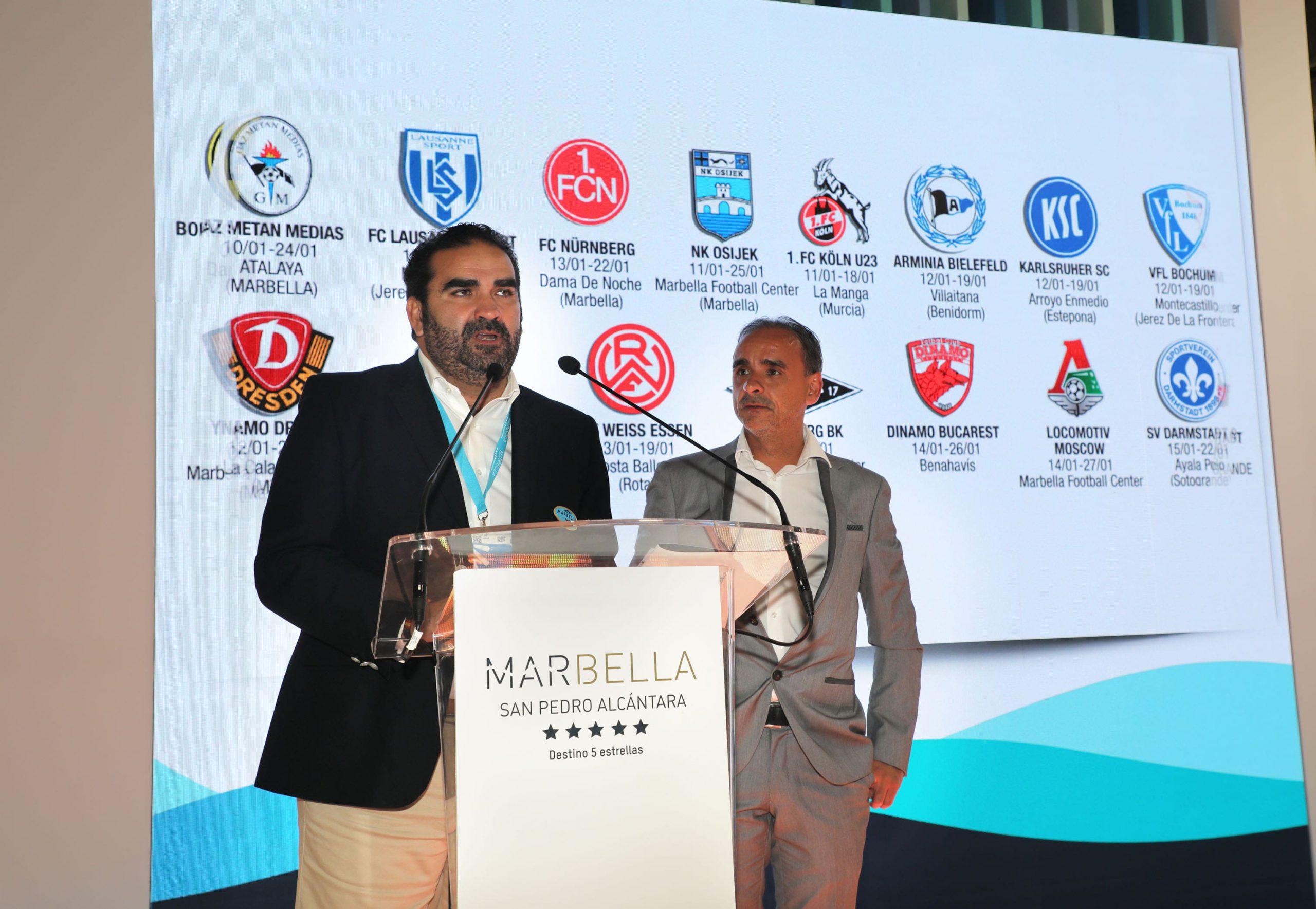 Marbella Football Center. Fitur 2020