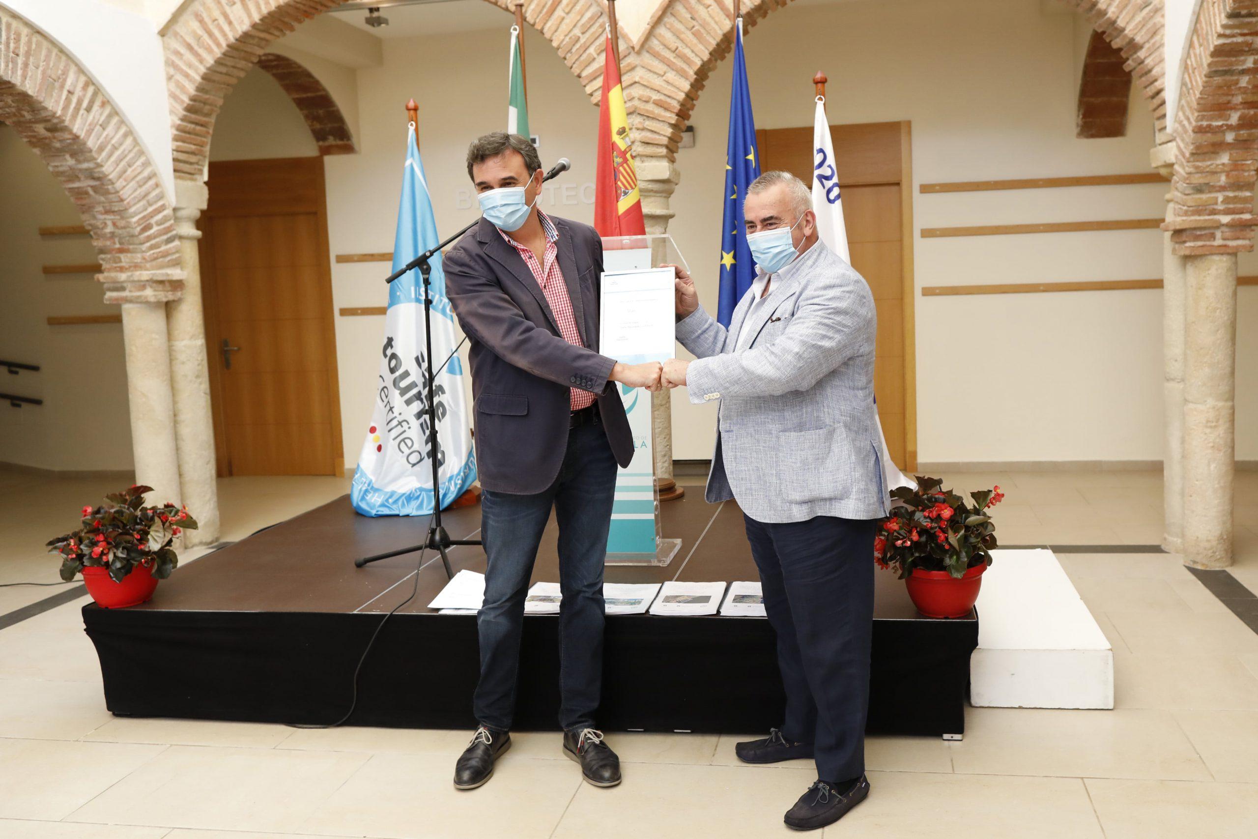 Marbella logra el sello de turismo seguro en sus espacios públicos