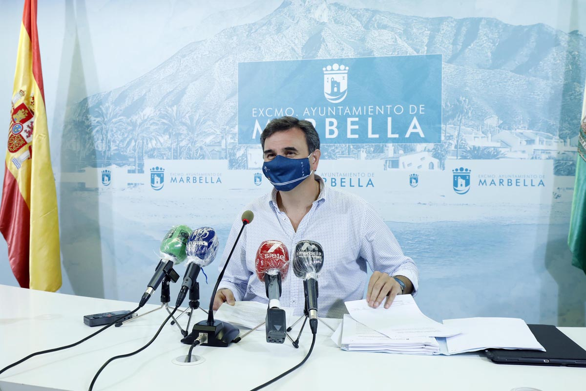 Marbella pone un marcha una APP geopadrón y callejero digital