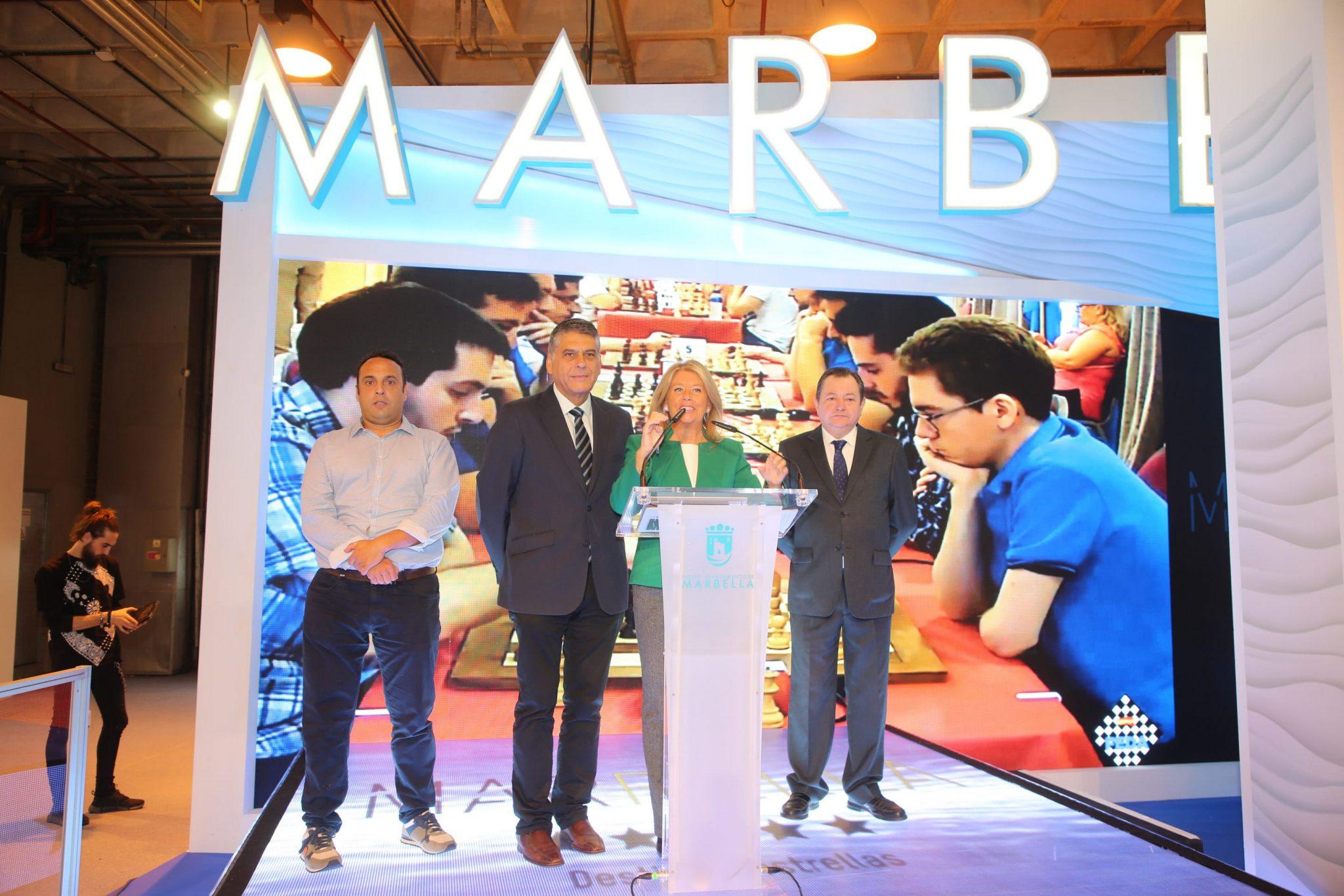 Marbella presenta en la segunda jornada de FITUR su oferta deportiva para 2019