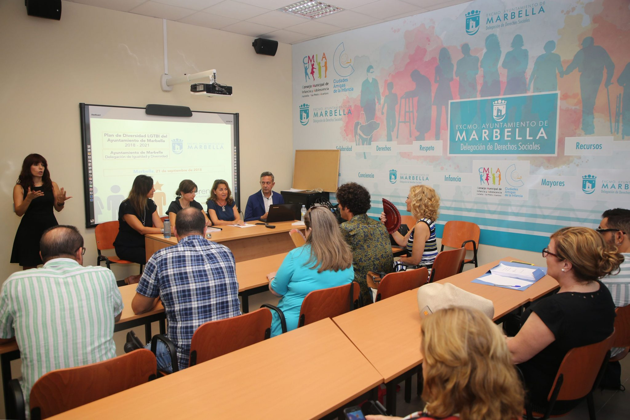 Marbella, primer municipio del país con un Plan definitivo de Diversidad de Recursos Humanos LGTBI