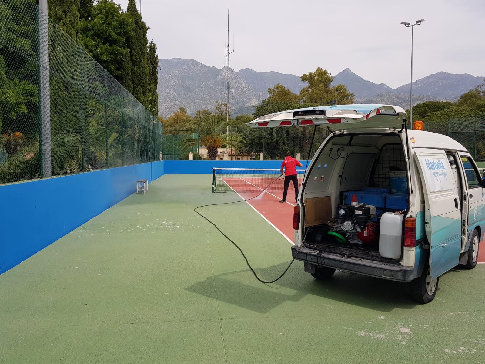 Marbella reabre mañana lunes cinco instalaciones deportivas municipales