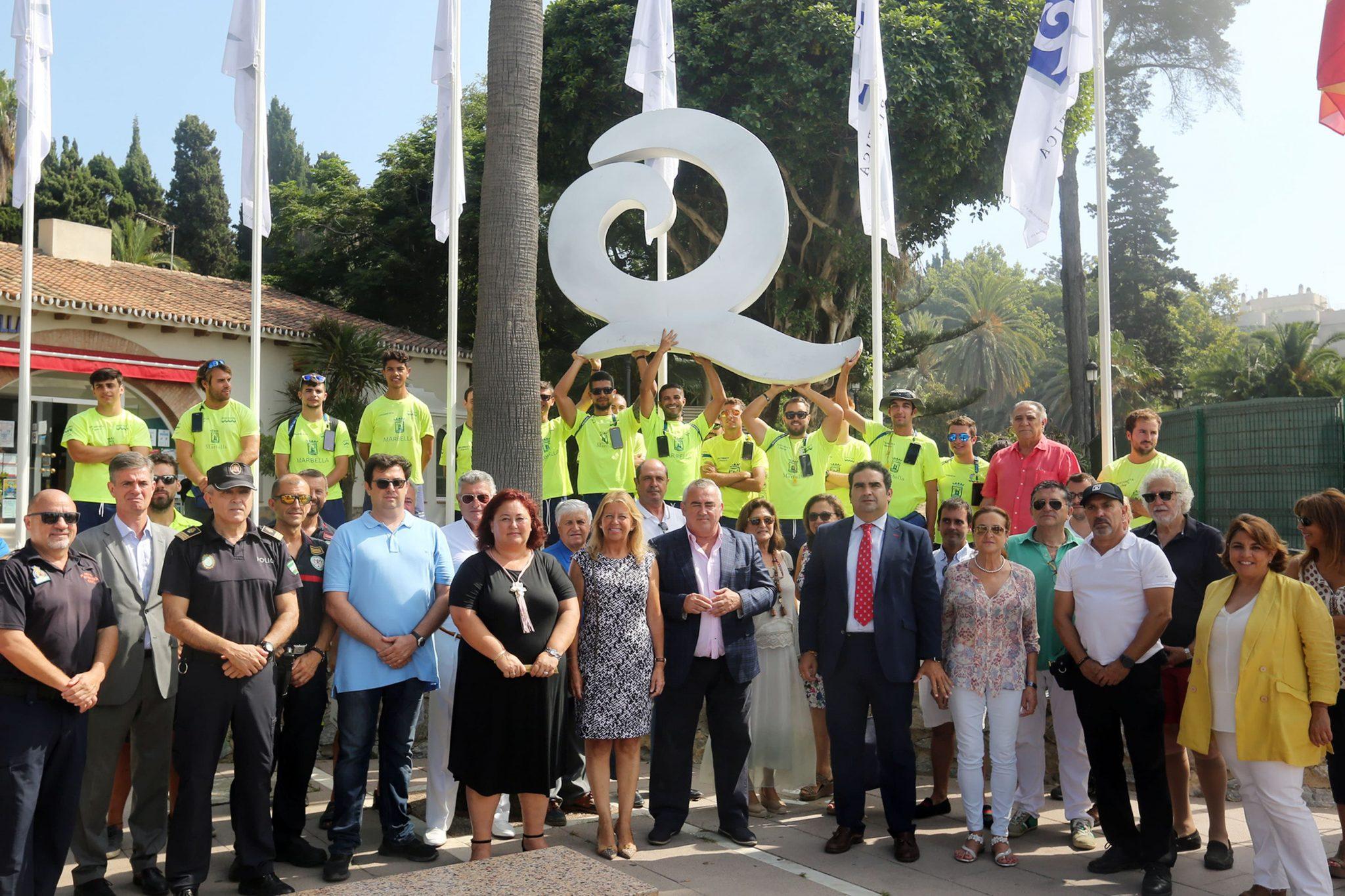 Marbella recibe la 'Q' de calidad turística en seis playas del municipio