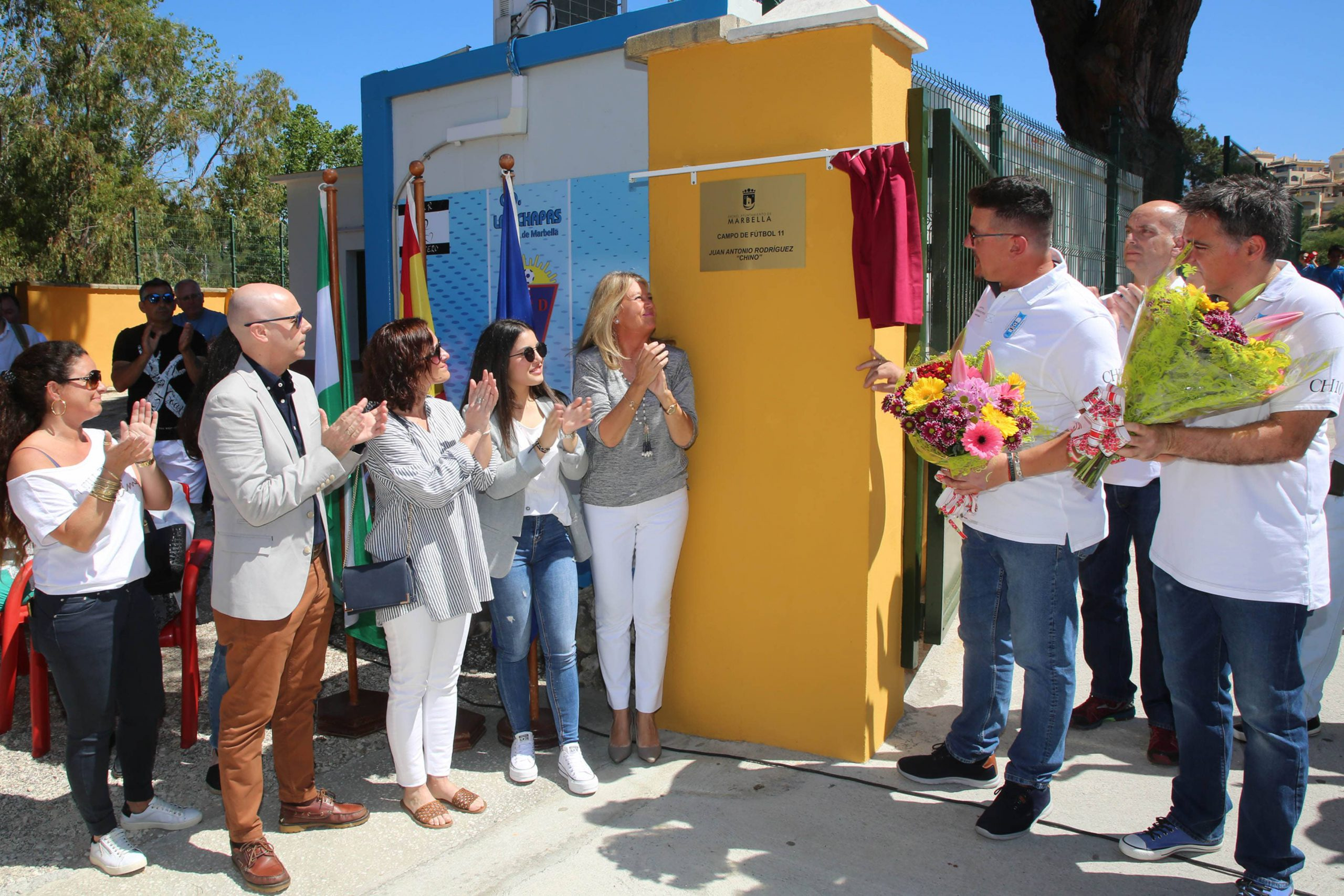 Marbella rinde un merecido homenaje a Juan Antonio Rodríguez 'El Chino'