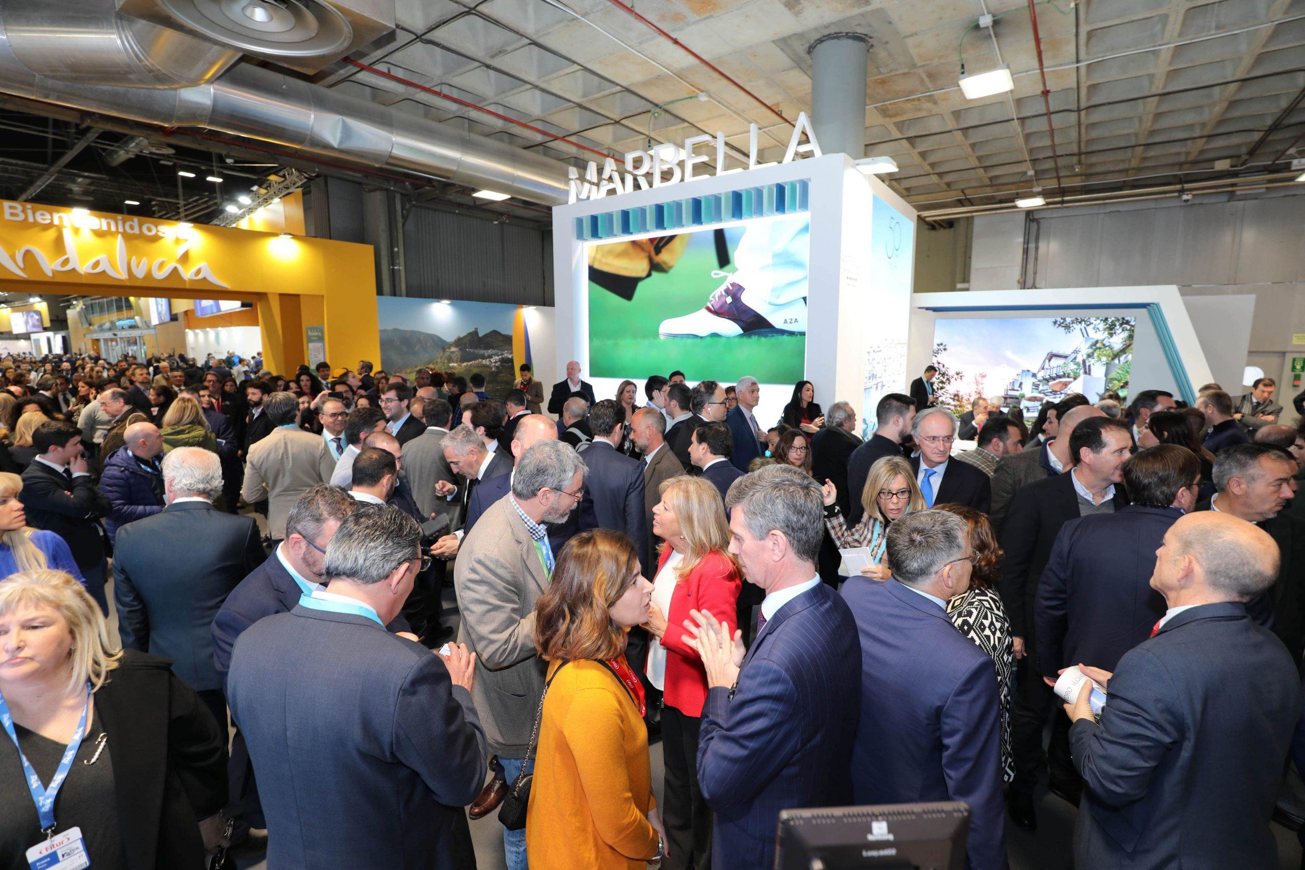 Marbella se estrena con fuerza en la primera jornada de Fitur 2020