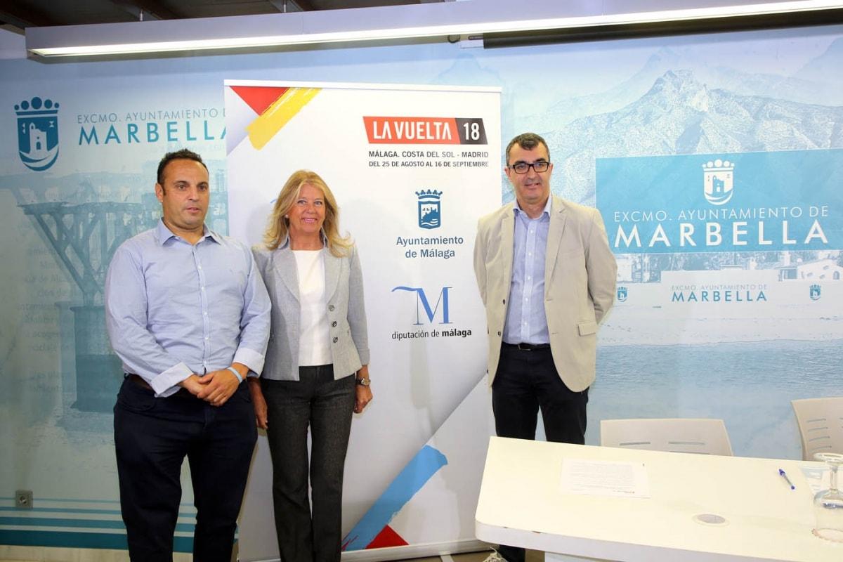 """Marbella volverá a ser protagonista este año de la Vuelta Ciclista a España con una salida """"que supondrá una gran proyección mediática y turística para la ciudad"""""""