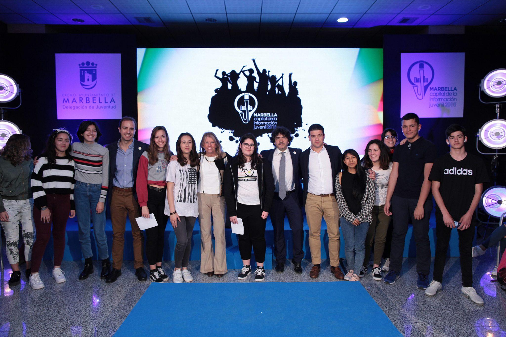 Más de 200 estudiantes celebran en Marbella el Día Europeo de la Información Juvenil