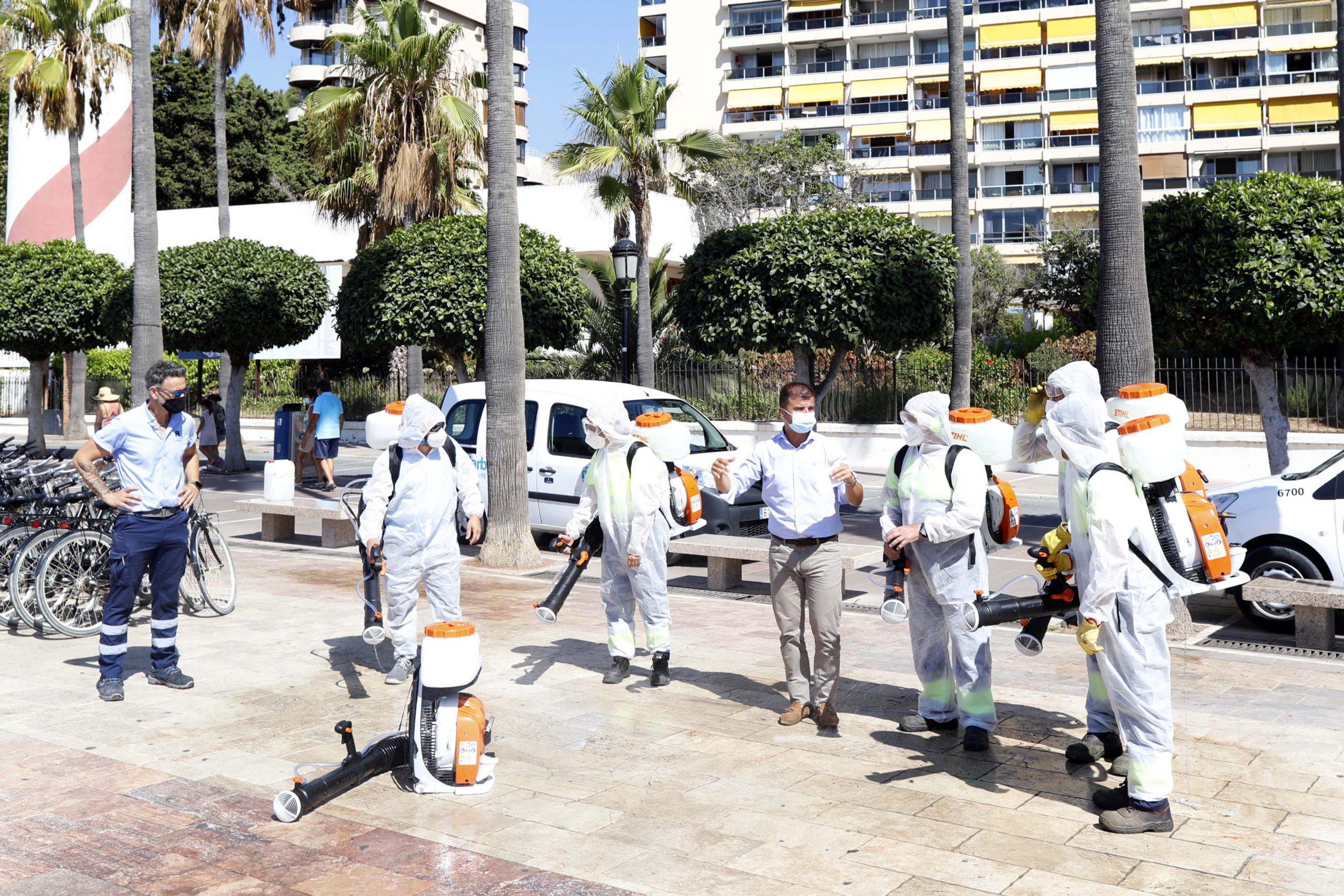 Mejoran la limpieza del municipio con la adquisición de nuevos atomizadores