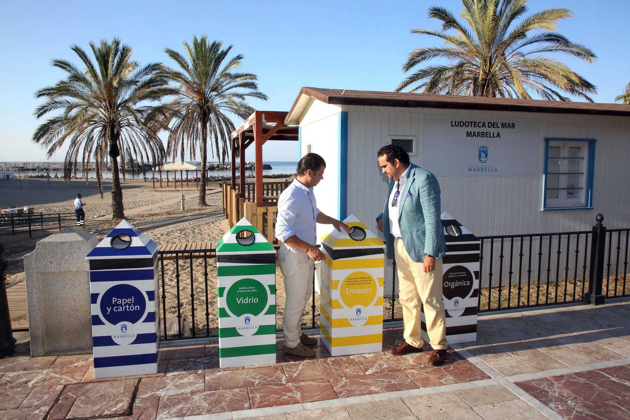 Mejoran los puntos limpios para la gestión de residuos en las playas