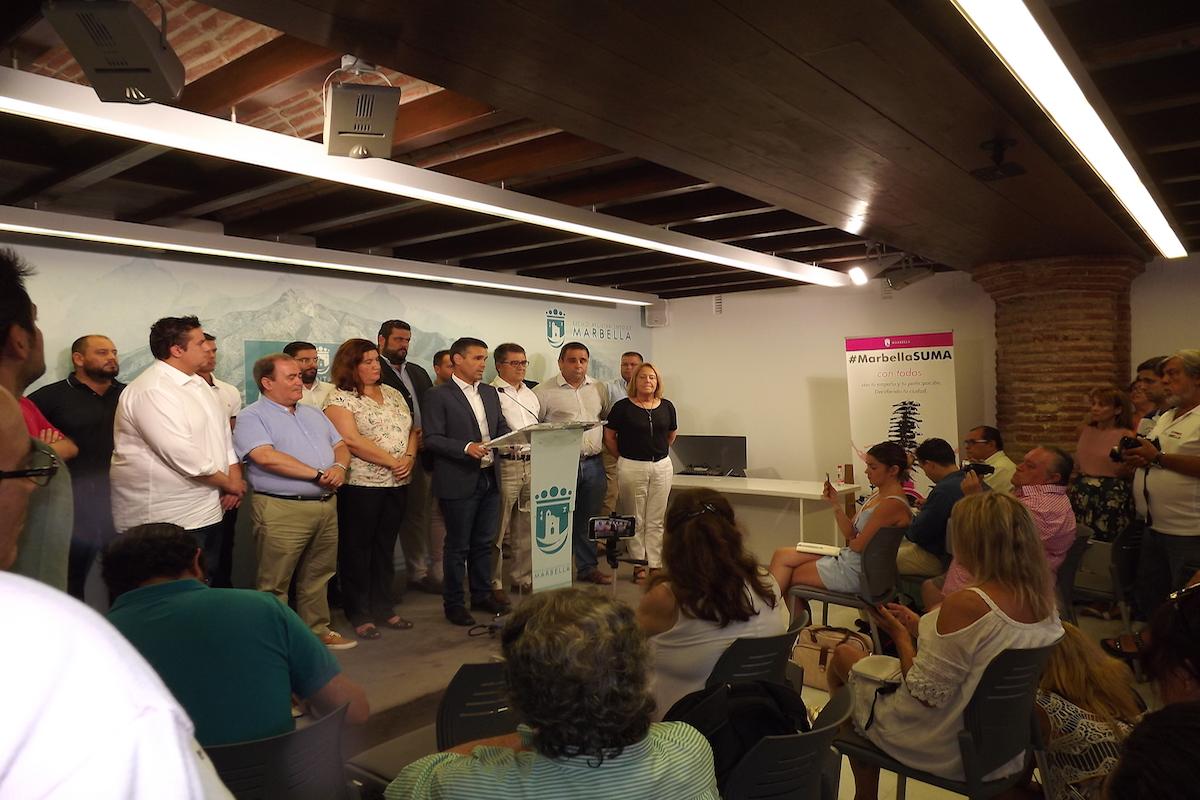 Moción de censura Marbella