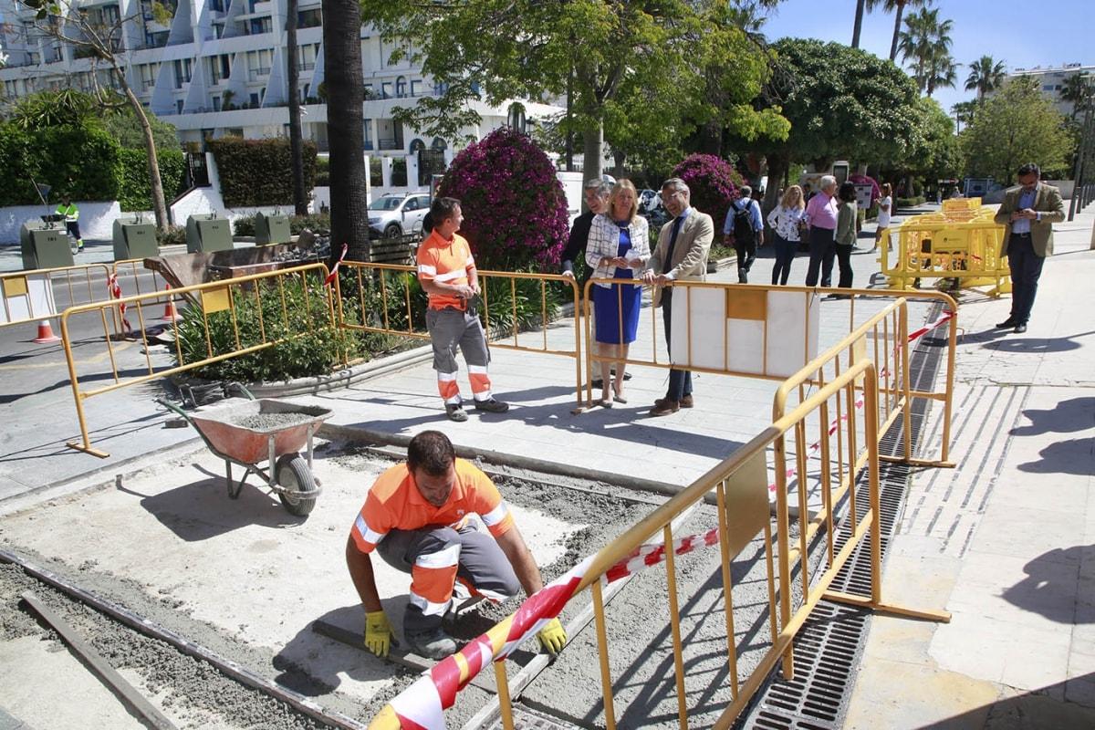 El Ayuntamiento destinará 200.000 euros para mejorar la movilidad peatonal en la zona de Molino de Viento de Marbella