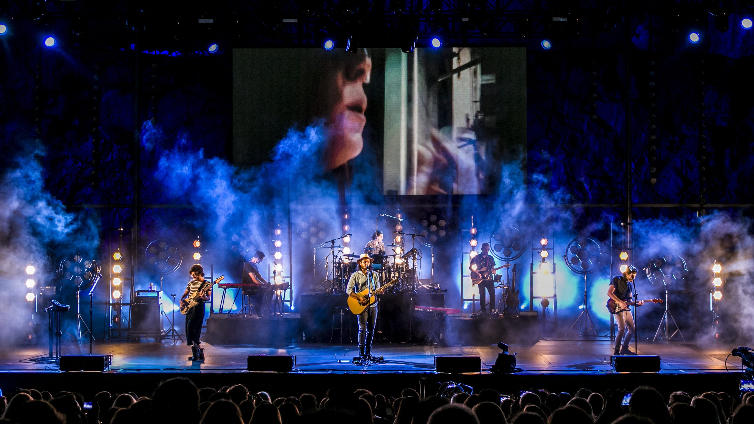 Morat repite concierto en Starlite Catalana Occidente ante un público fiel