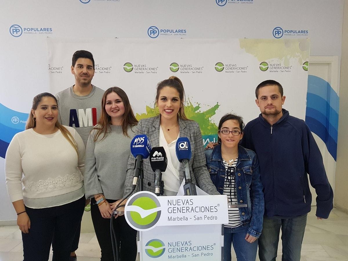 NNGG destaca que la elección de Marbella como Capital de la Información Juvenil es una buena noticia para todos los jóvenes del municipio