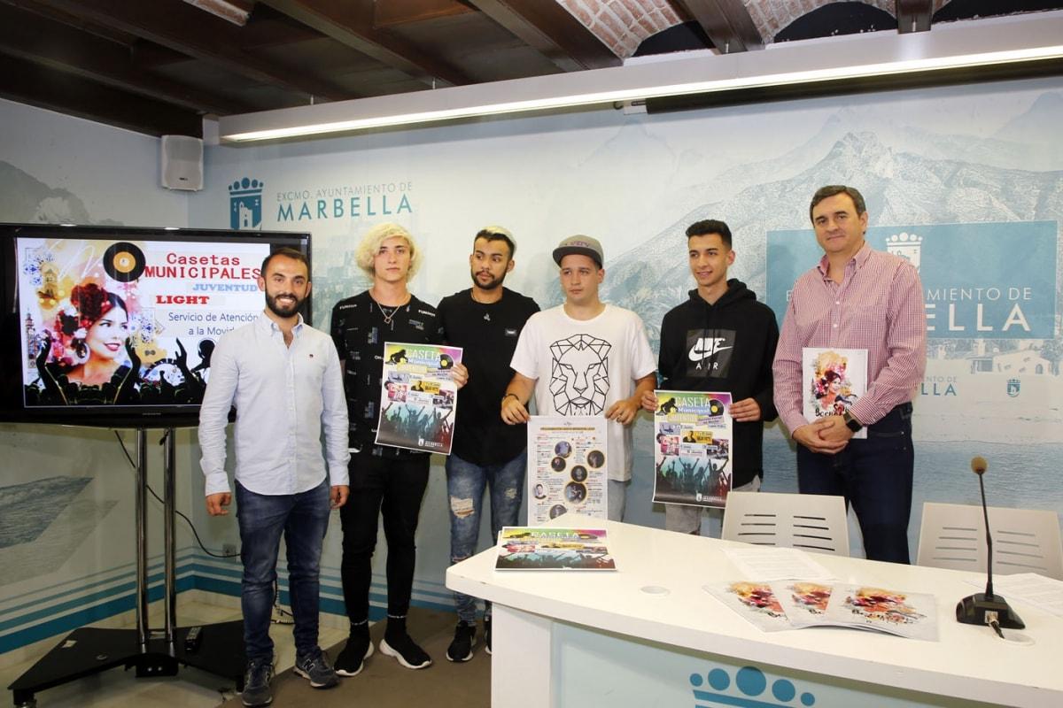 Caseta Light y el Servicio de Atención a la Movida, novedades para la Feria de San Bernabé 2018 para los jóvenes