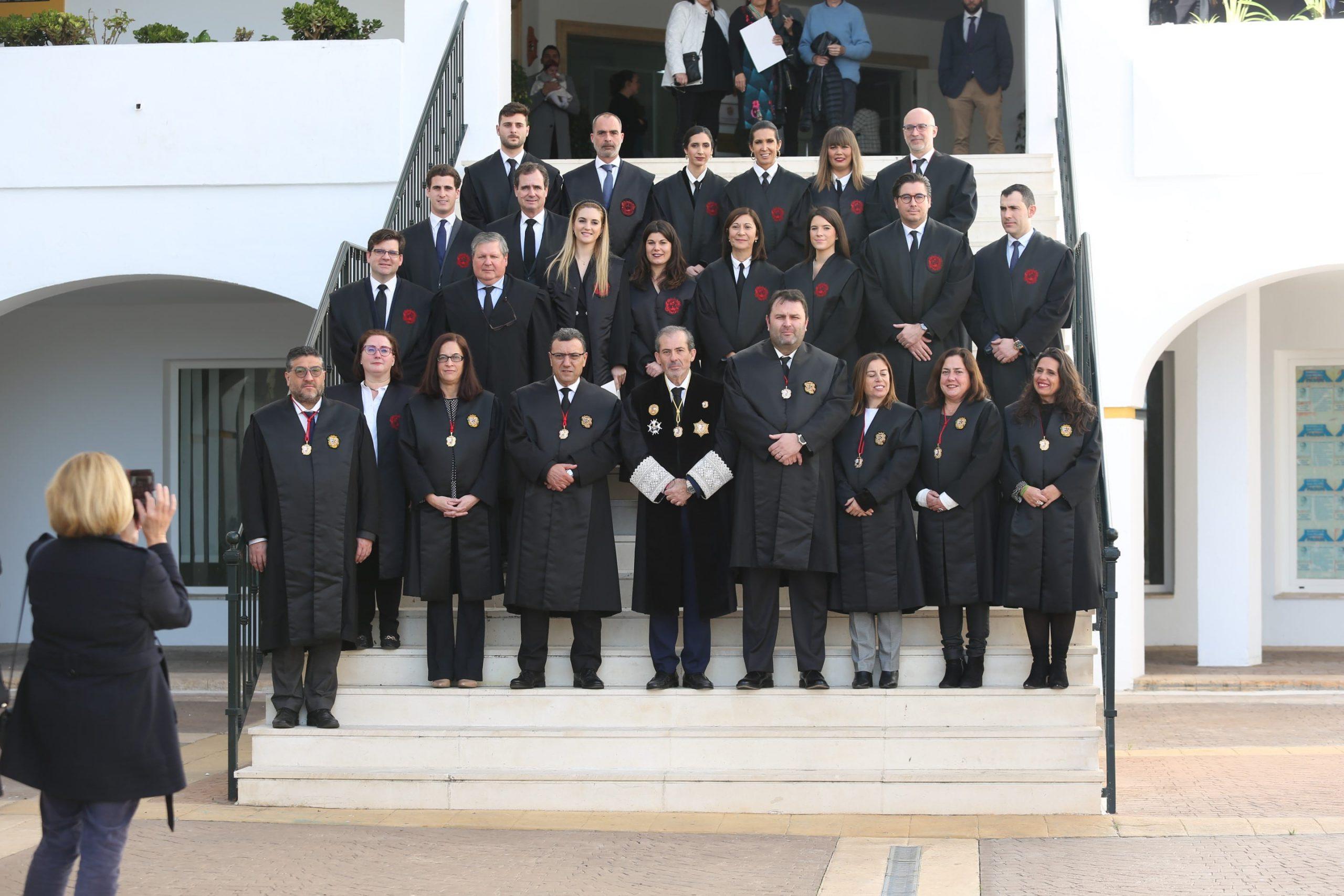 Ocho nuevos letrados juran en Marbella y se incorporan al Colegio de Abogados de Málaga